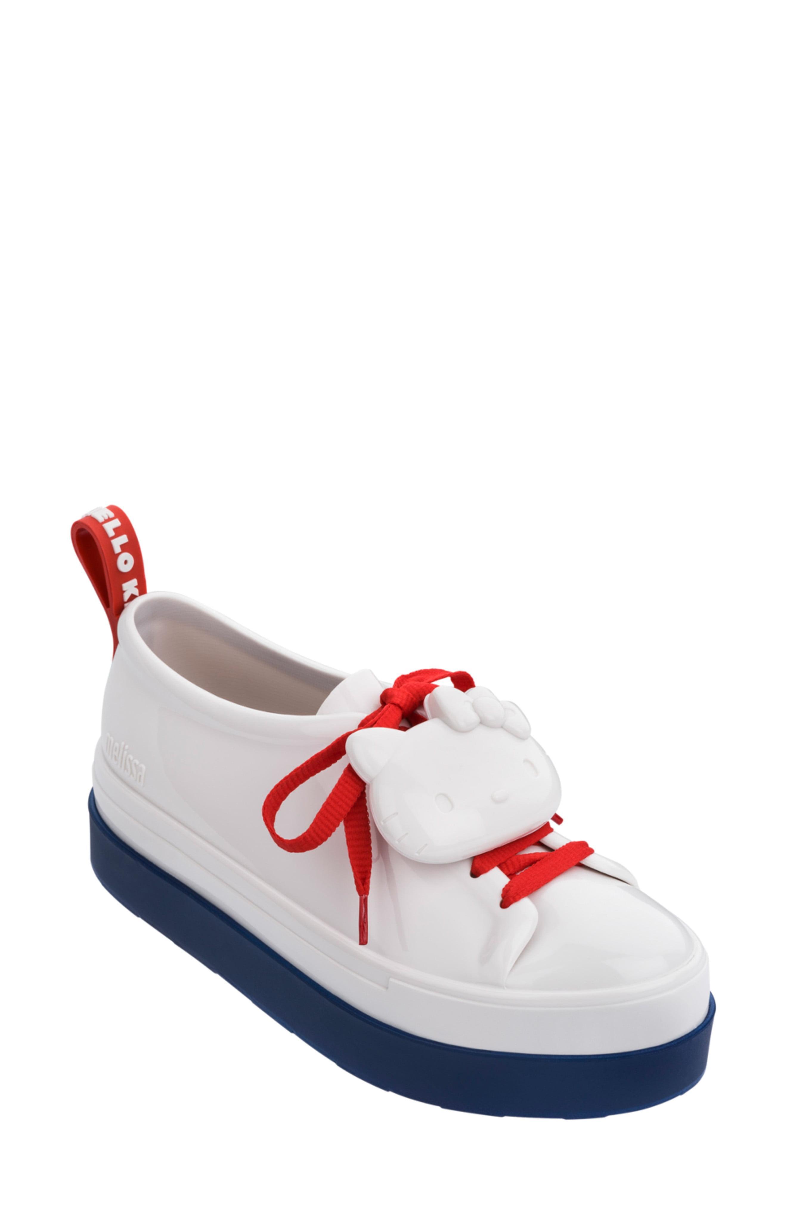 d9c7d0bb6 Melissa - Red Hello Kitty Sneaker - Lyst. View fullscreen