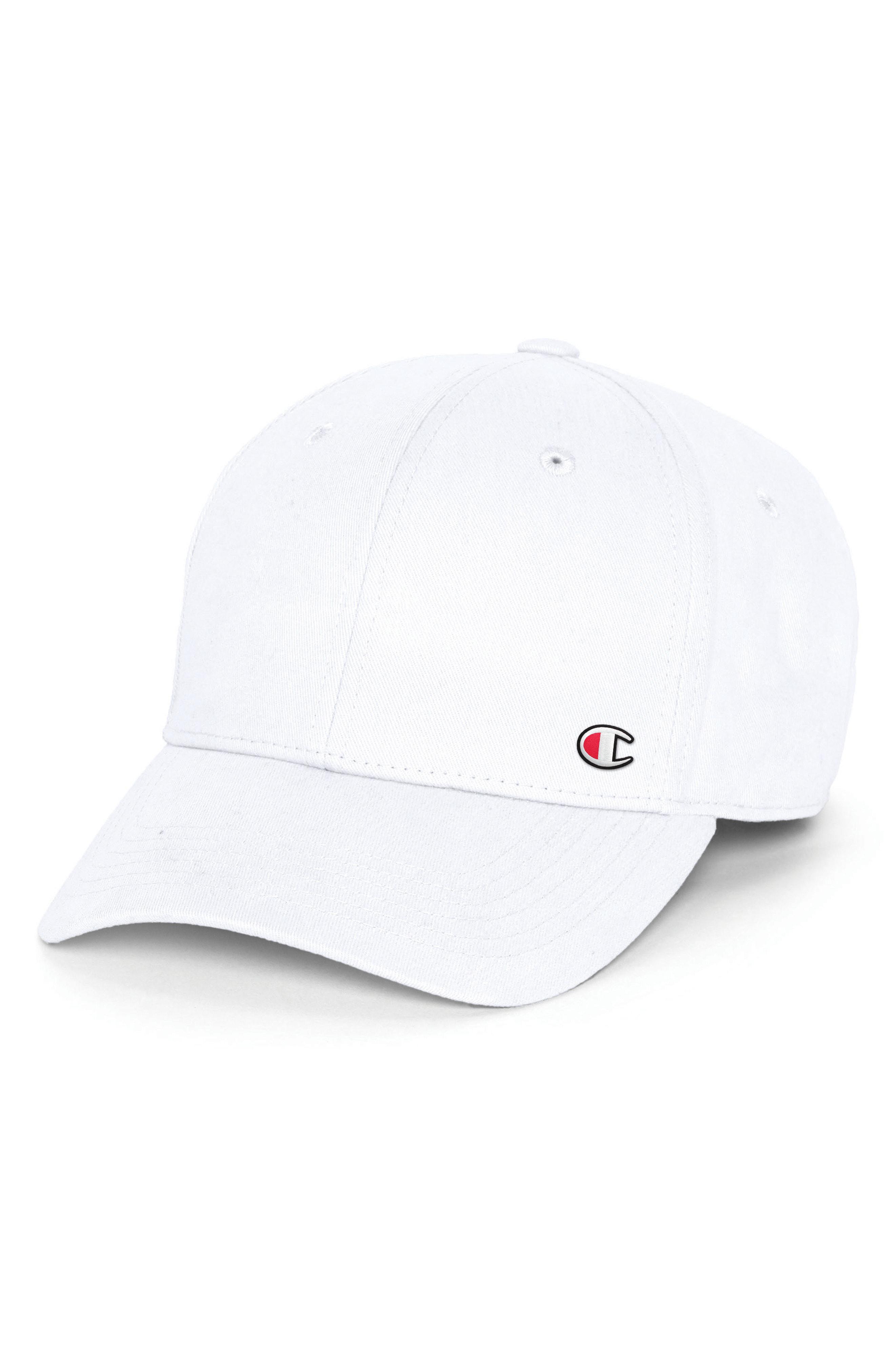 6f08d4fa9b6bd ... usa lyst champion classic twill c patch ball cap in white for men 0e750  55d21 ...