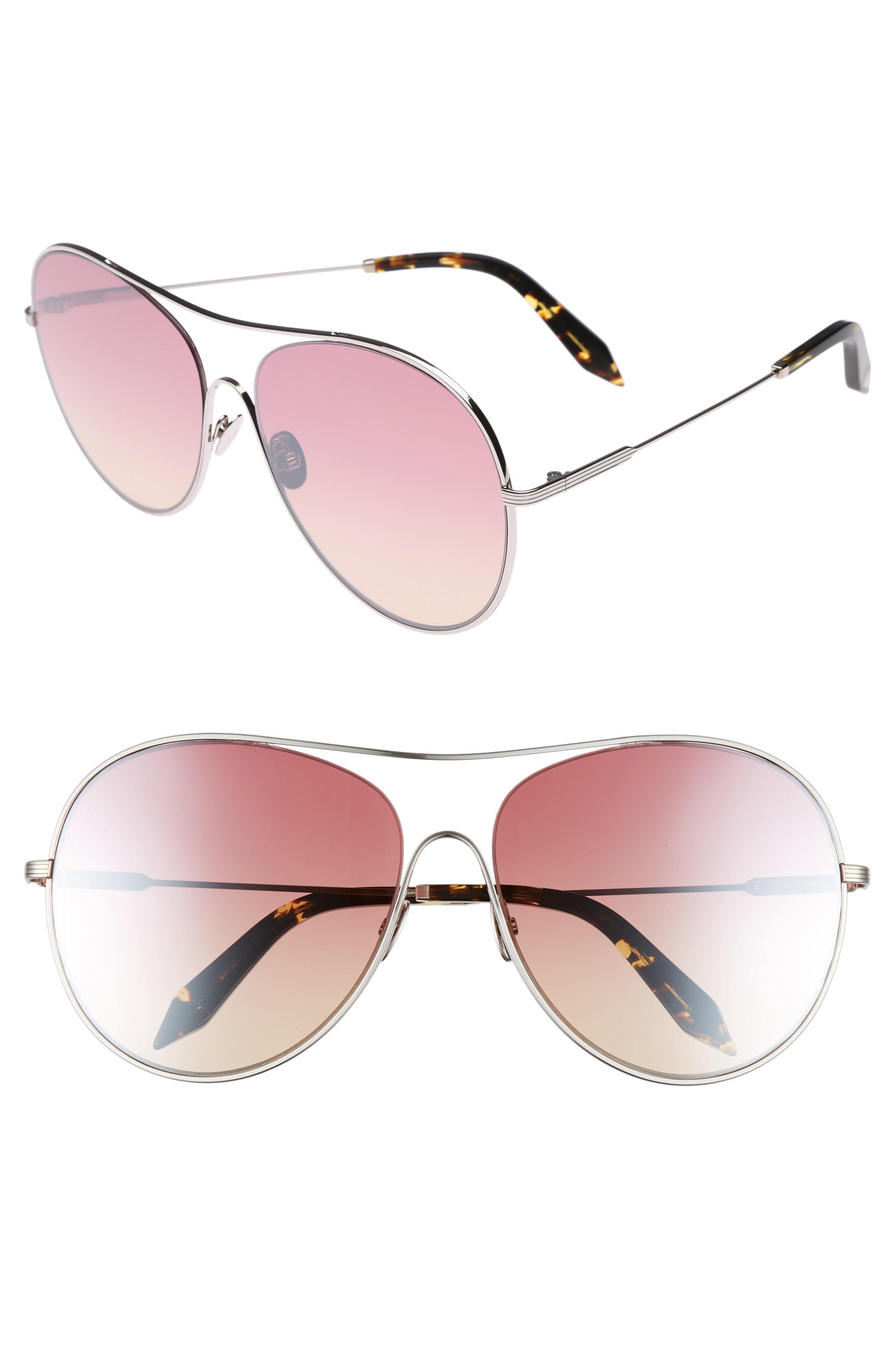 008602a397 Lyst - Victoria Beckham Loop 63mm OverLuna in Pink