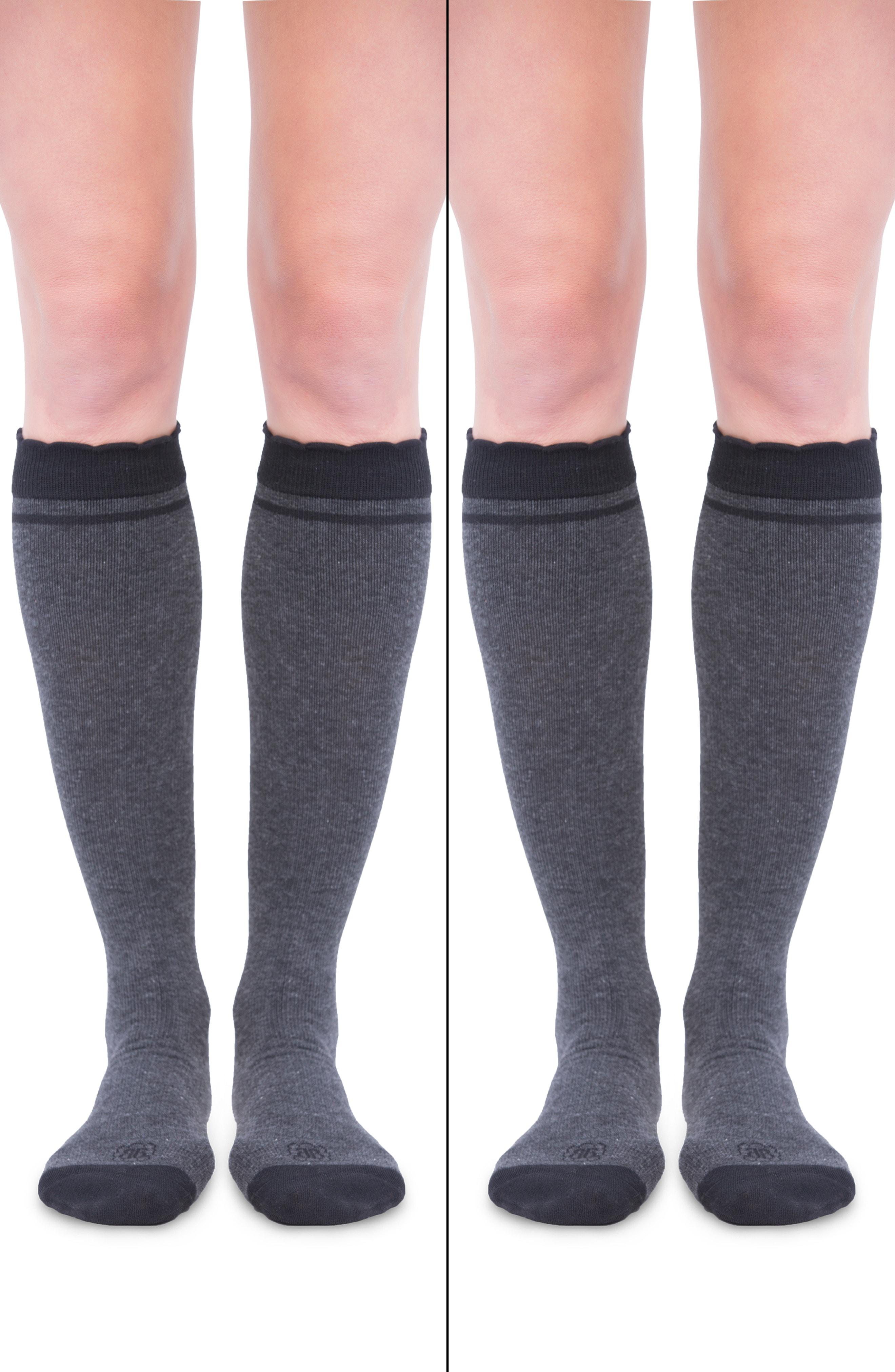 9d33ff3701e Belly Bandit. Women s Gray Belly Bandit 2-pack Compression Socks ...