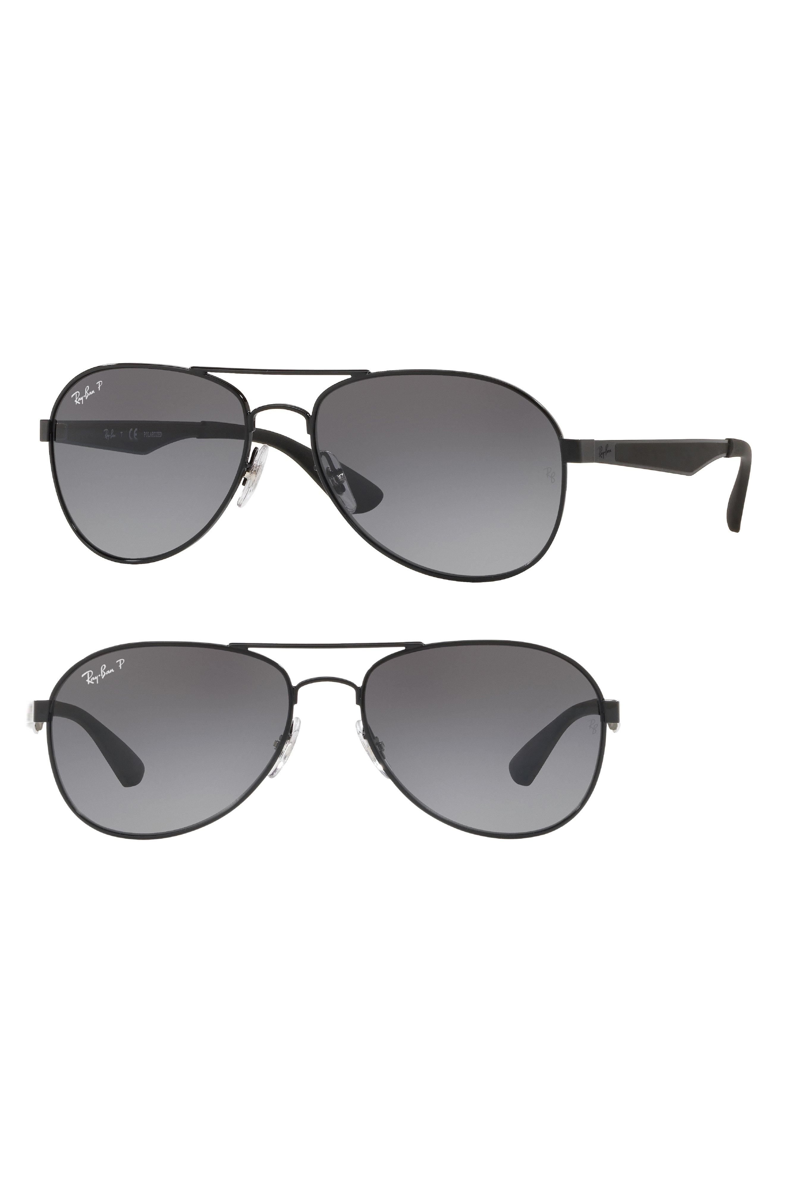 f59a0f6290 Lyst - Ray-Ban Active Lifestyle 61mm Polarized Pilot Sunglasses - in ...