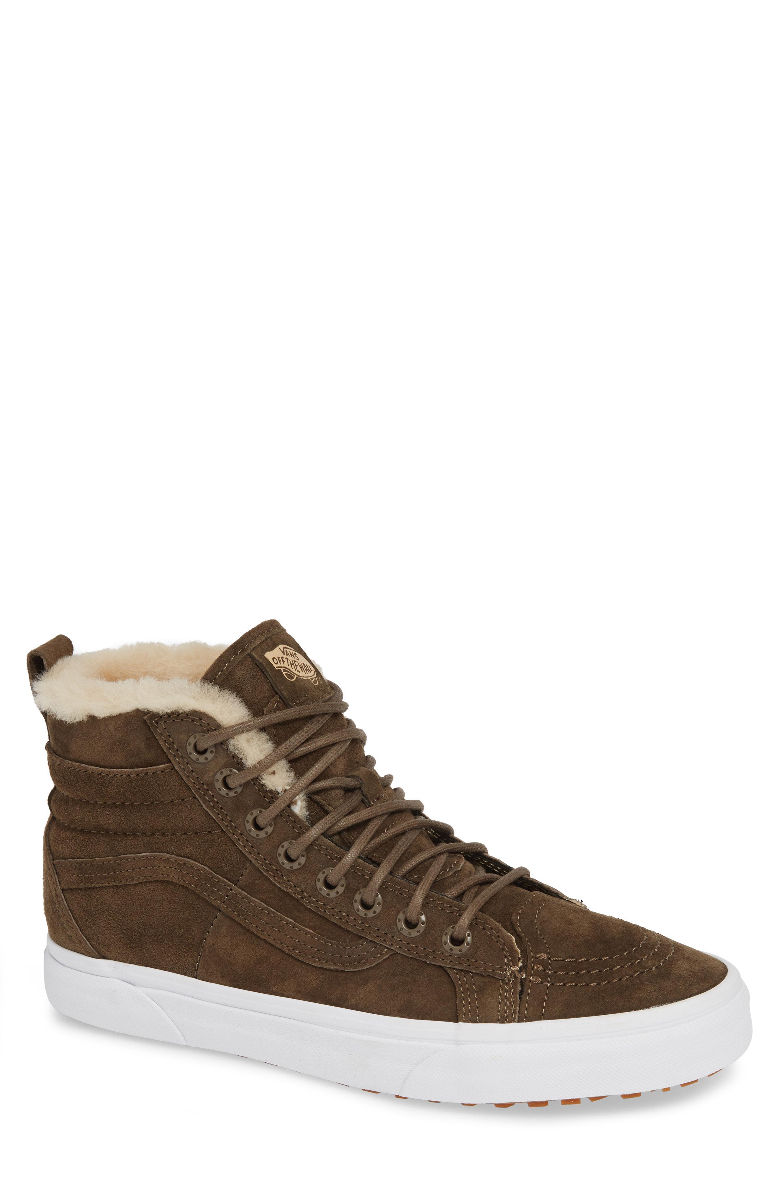 fee4678c680c Lyst - Vans Nyc Sk8 Hi 46 Mte Dx Sneaker in Brown for Men - Save 33%