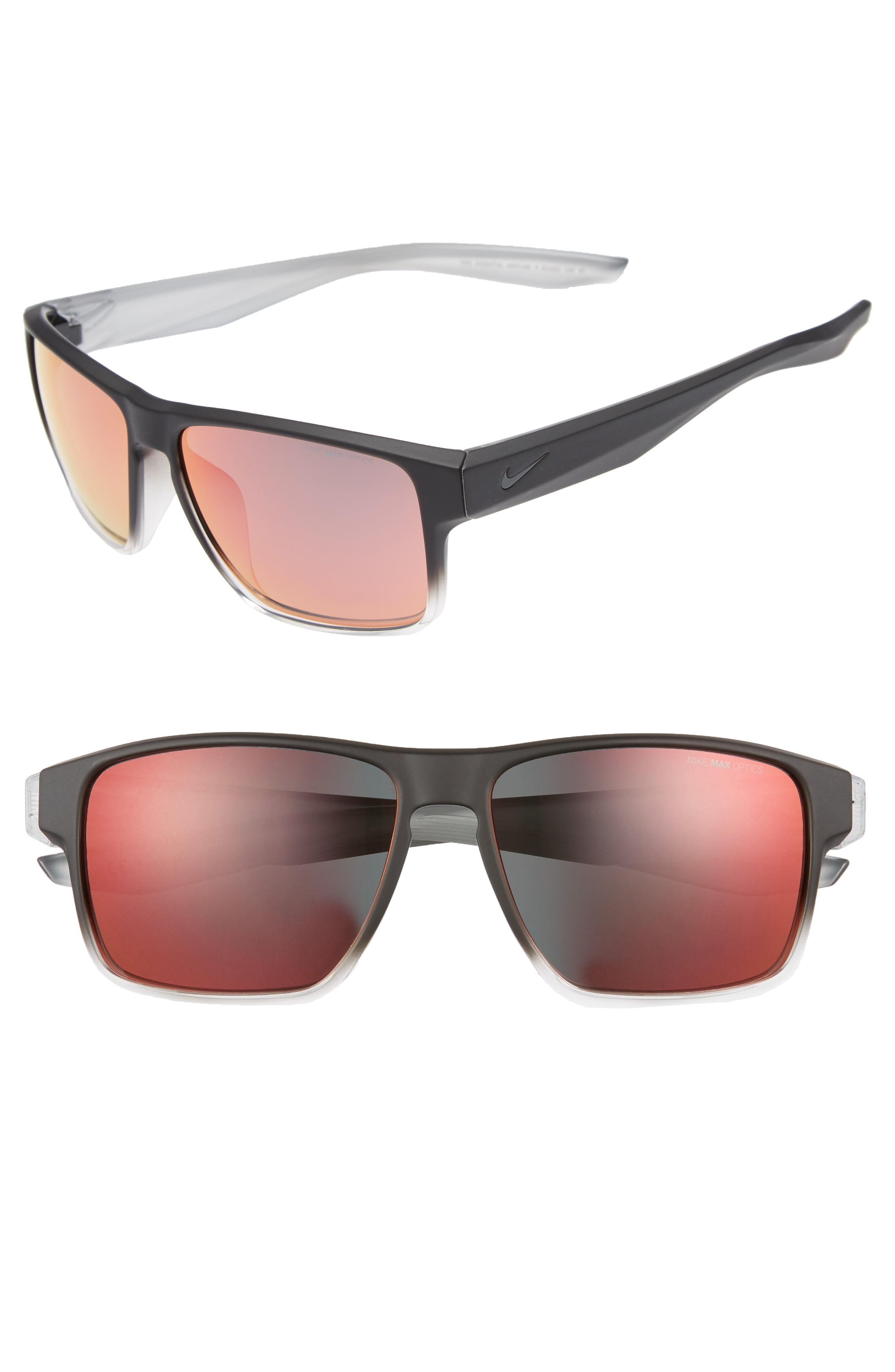 c3ea6cc72a08 Lyst - Nike Essential Venture R 59mm Sunglasses in Black for Men