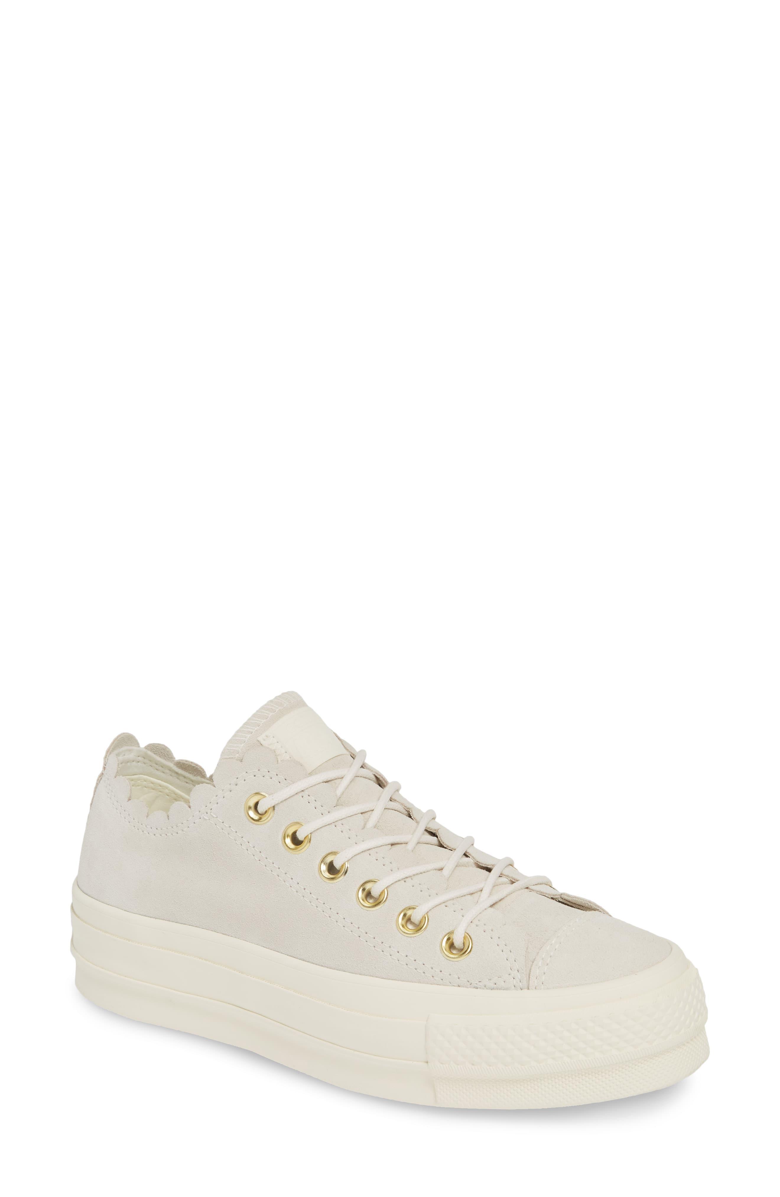 84f050542a Converse. Women s Chuck Taylor All Star Frilly Scallop Platform Sneaker