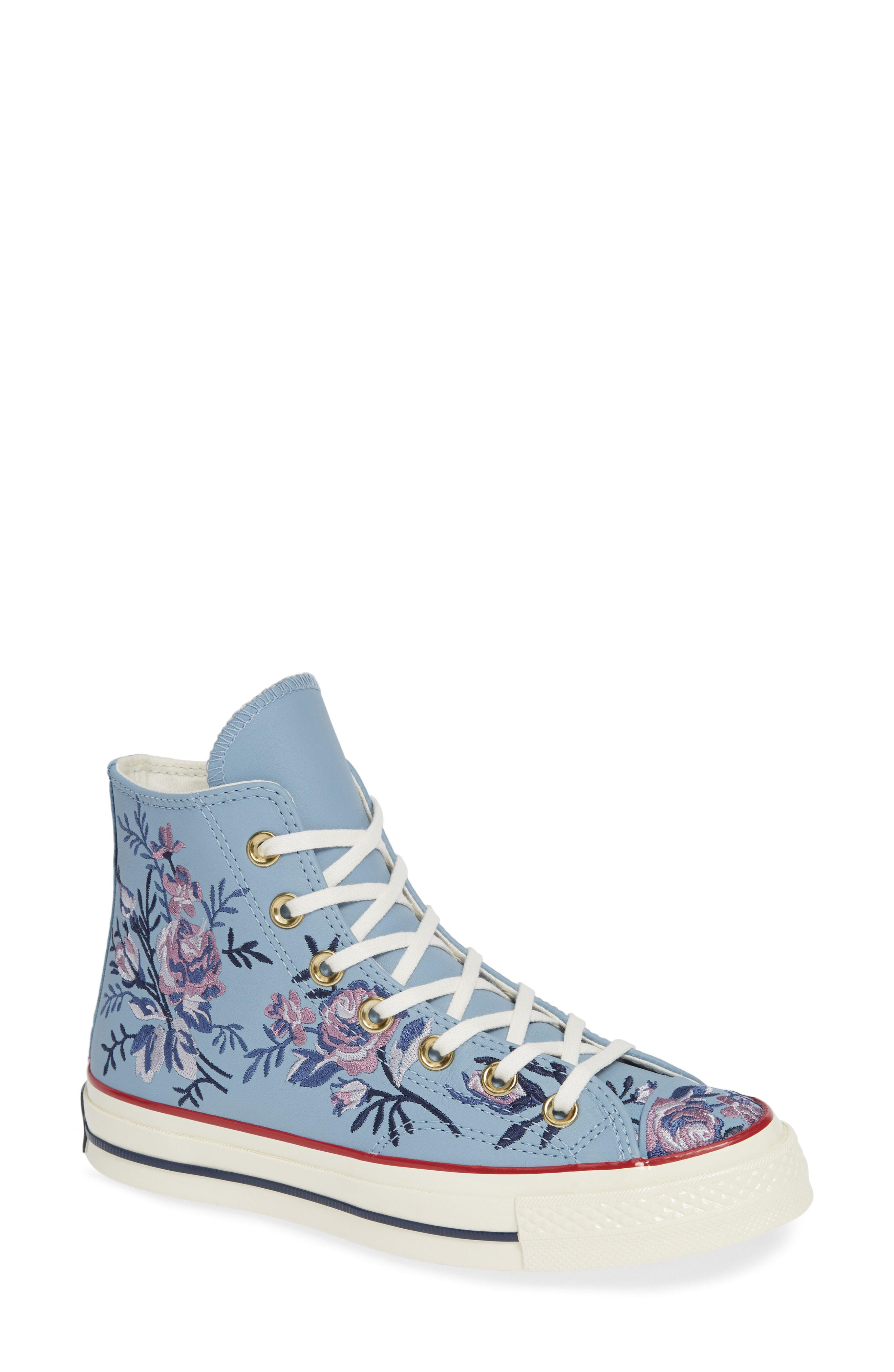Lyst - Converse Chuck Taylor All Star Parkway Floral 70 High Top ... 8e6b62ab3