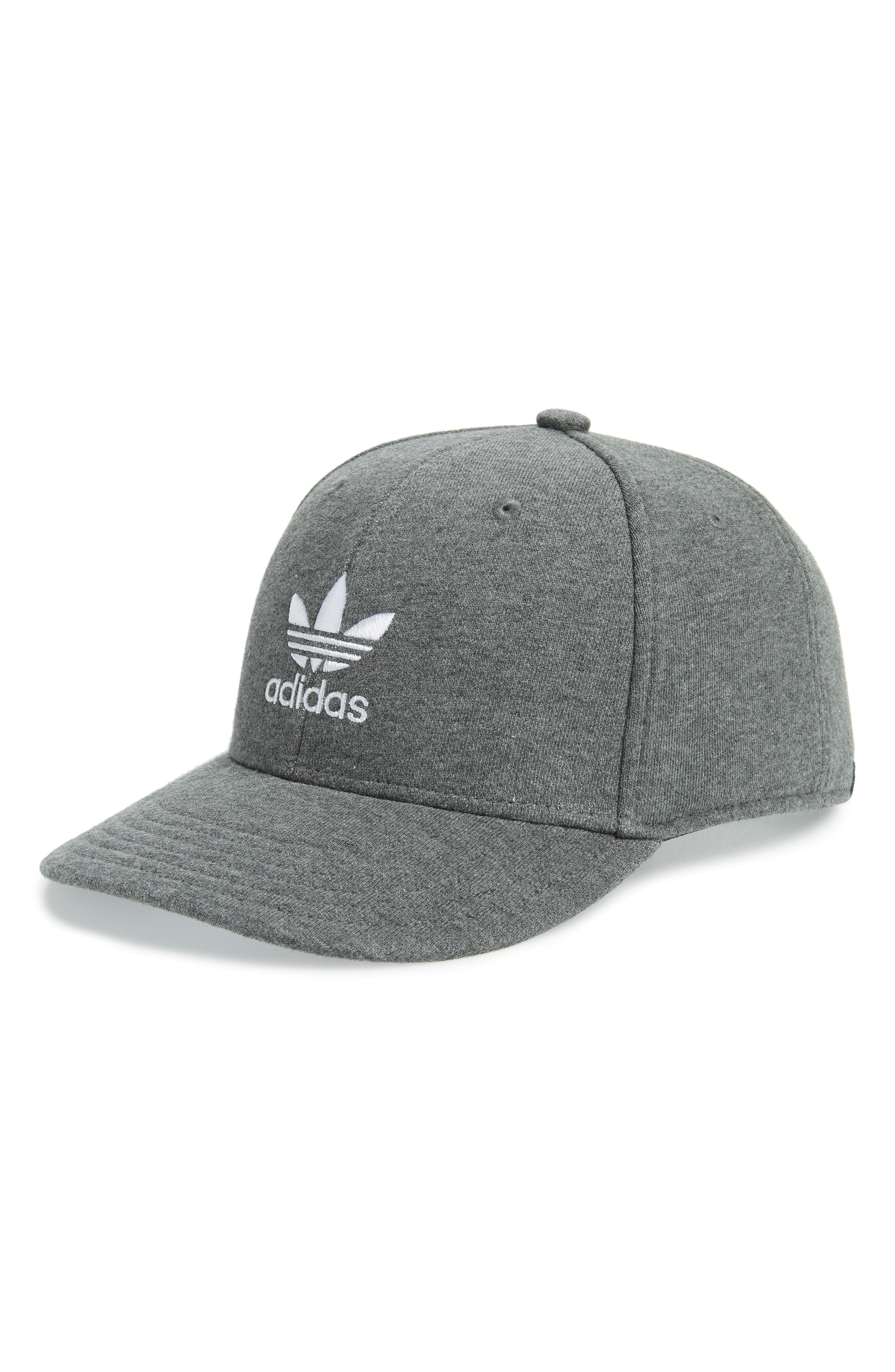 5673f235aa8 Lyst - Adidas Originals Trefoil Snapback Baseball Cap - in Gray for Men