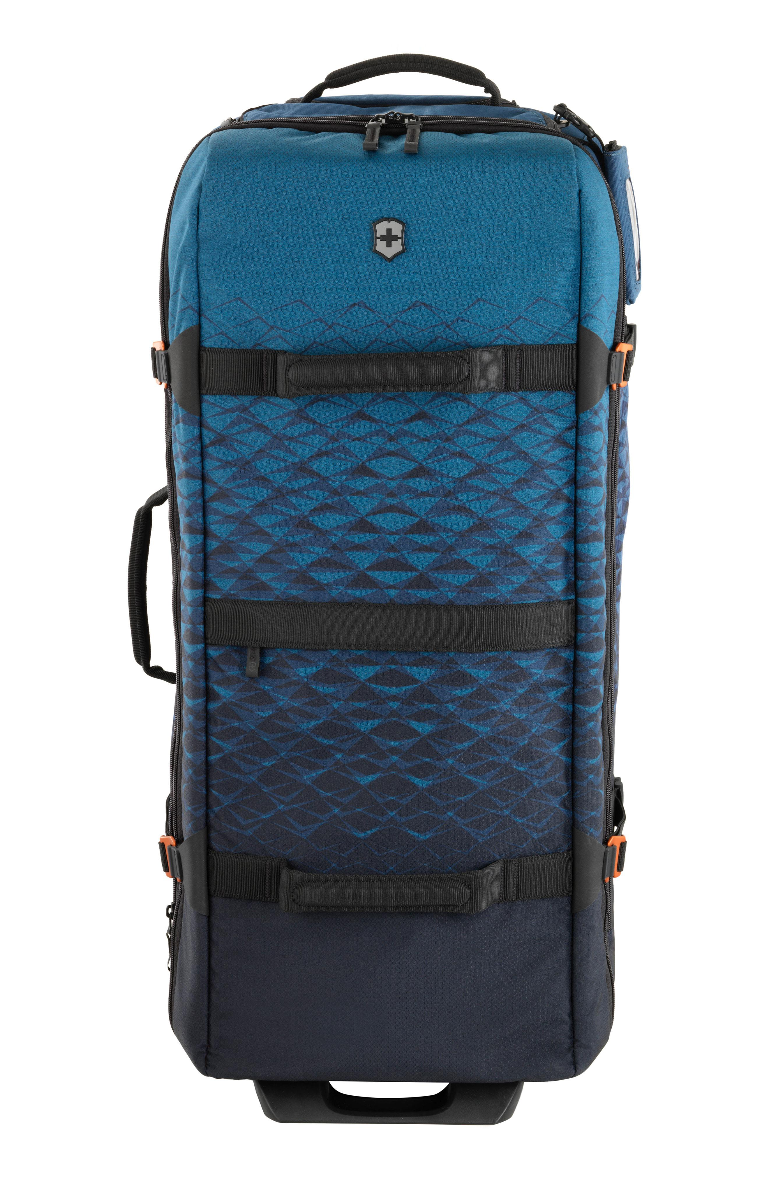 Victorinox. Men s Blue Victorinox Swiss Army Vx Touring Extra Large 33-inch  Wheeled Duffel Bag 59c11d459e05a