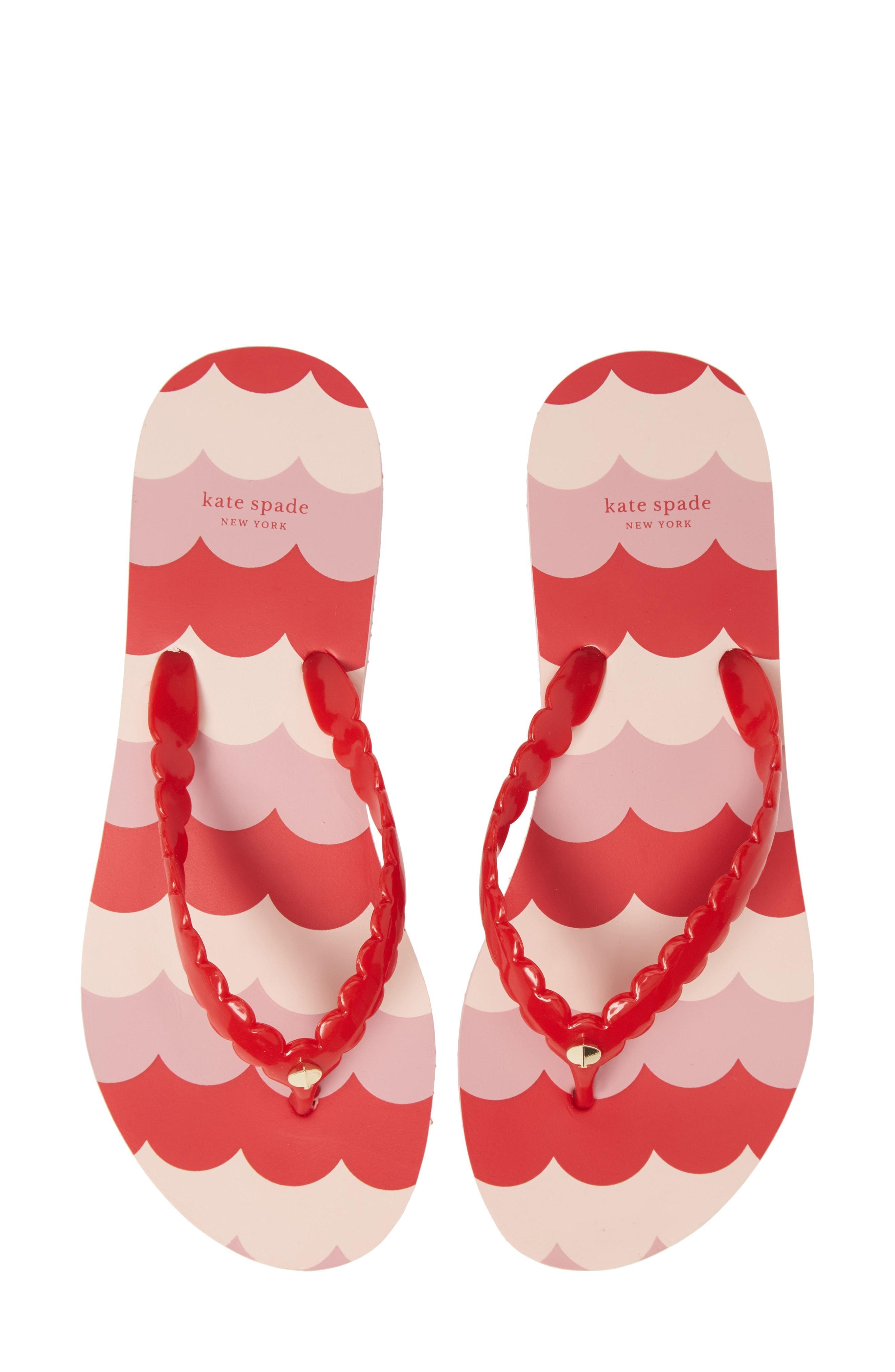 eb89d54851cf Kate Spade - Red Mare Flip Flop - Lyst. View fullscreen