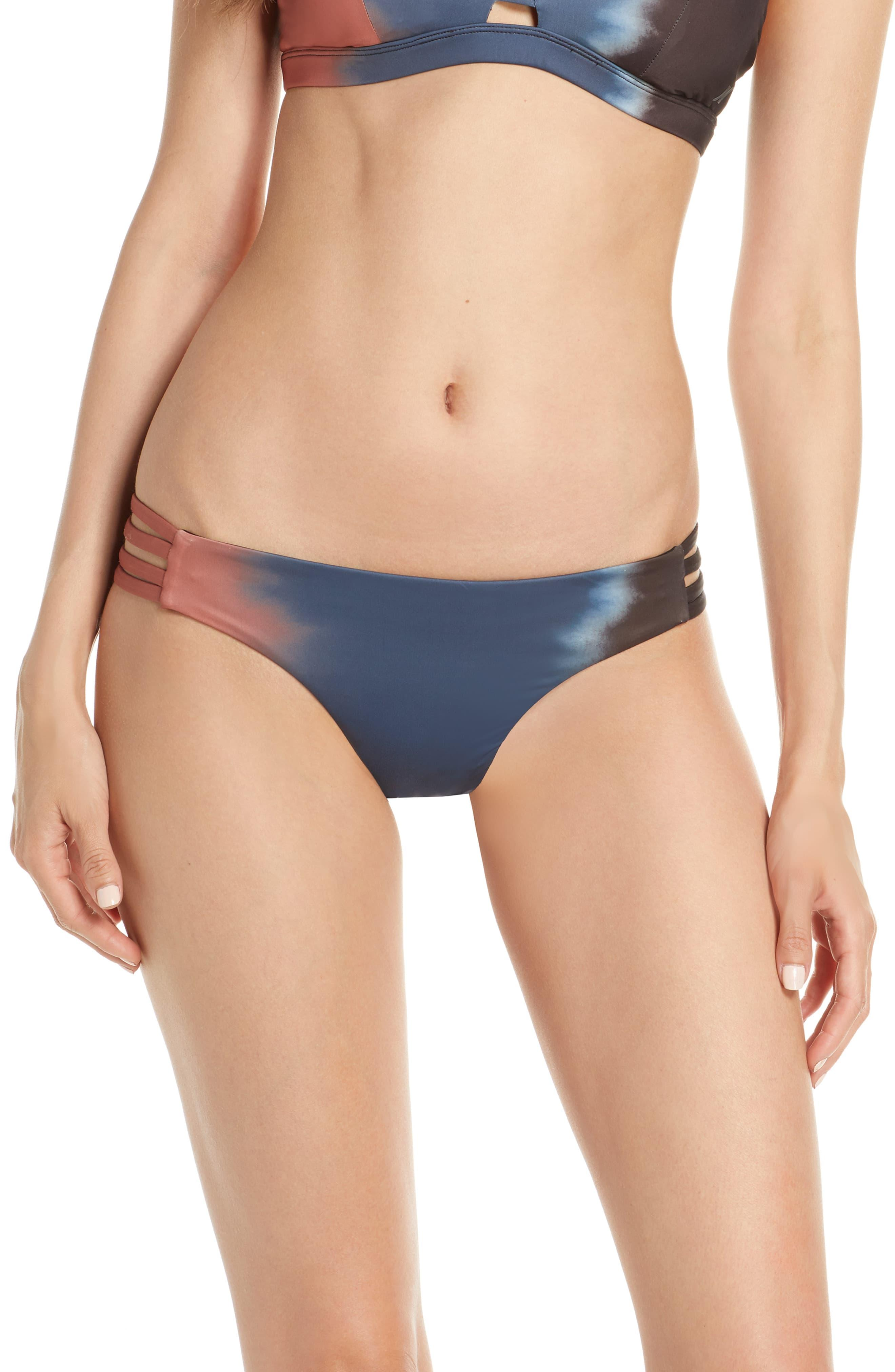 d9fbe33cc08 Hurley Quick Dry Max Gradient Bikini Bottoms in Blue - Lyst