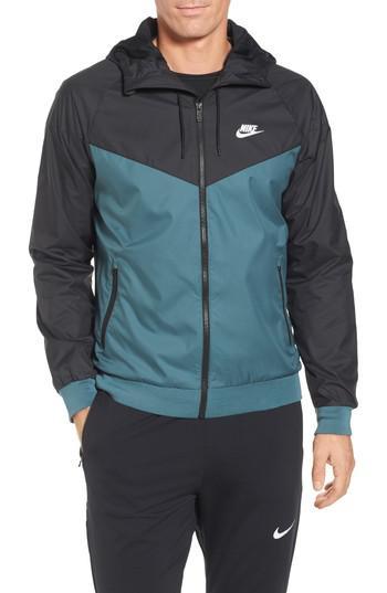 a23ddd899853 Lyst - Nike  windrunner  Colorblock Jacket in Black for Men