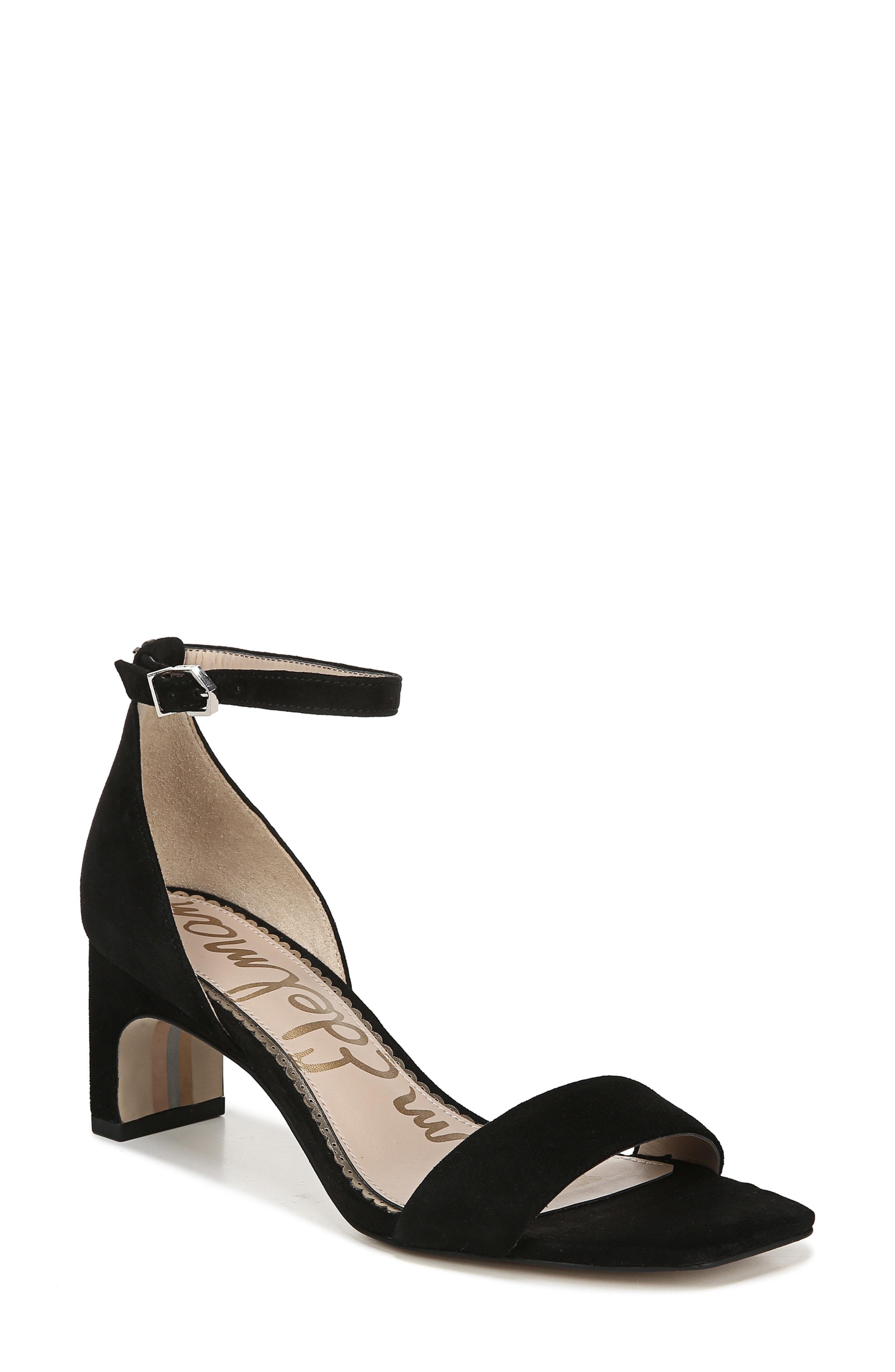 346fc69eb125 Lyst - Sam Edelman Holmes Ankle Strap Sandal in Black - Save 30%