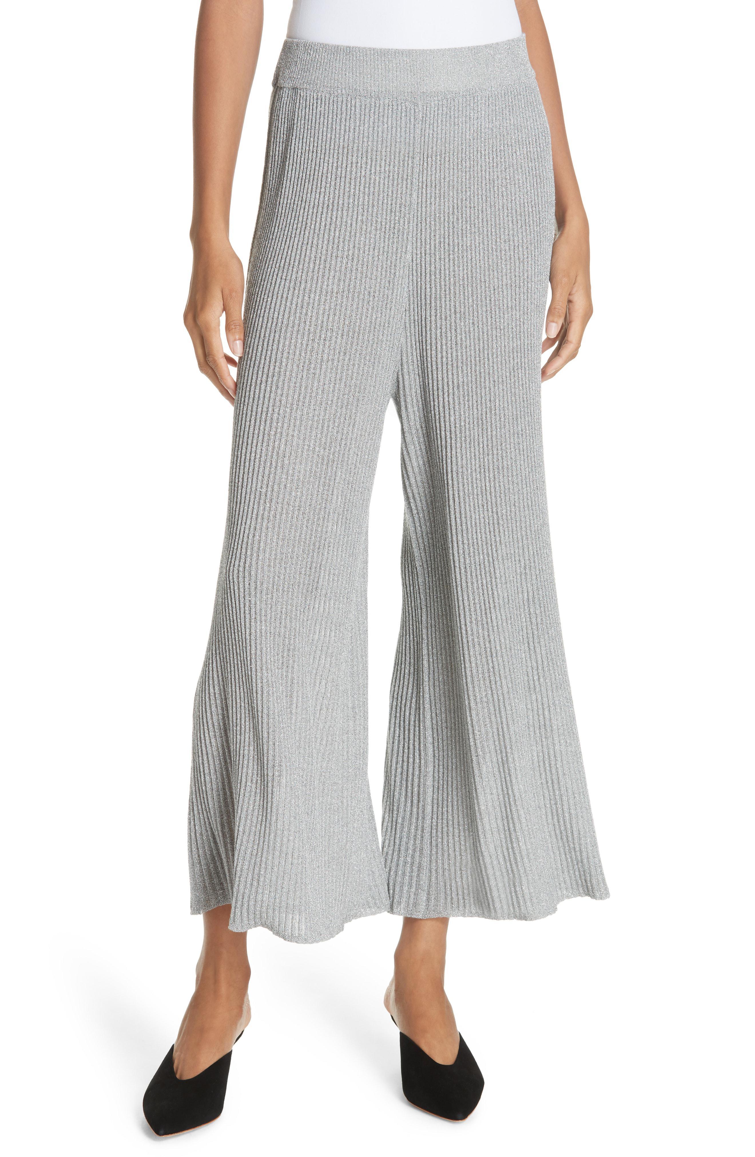 8b6f37f050f197 Lyst - Mes Demoiselles Mikhaela Knit Pants in Gray