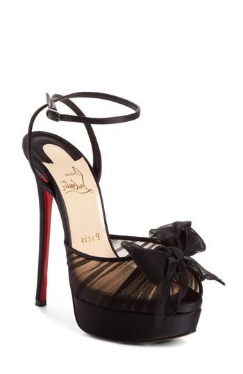 e2d8d052500 Lyst - Christian Louboutin Artydiva Platform Ankle Strap Sandal in Black