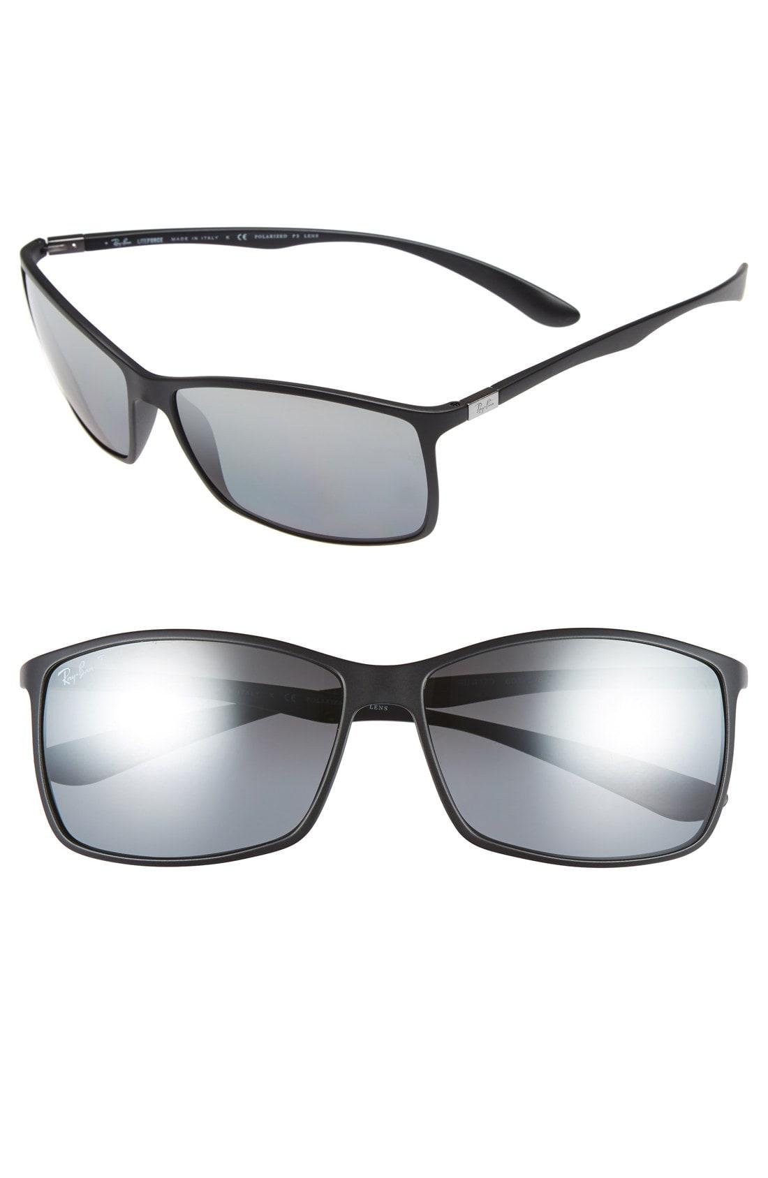 068104aed2 Lyst - Ray-Ban  tech Liteforce  62mm Polarized Sunglasses - in Gray ...