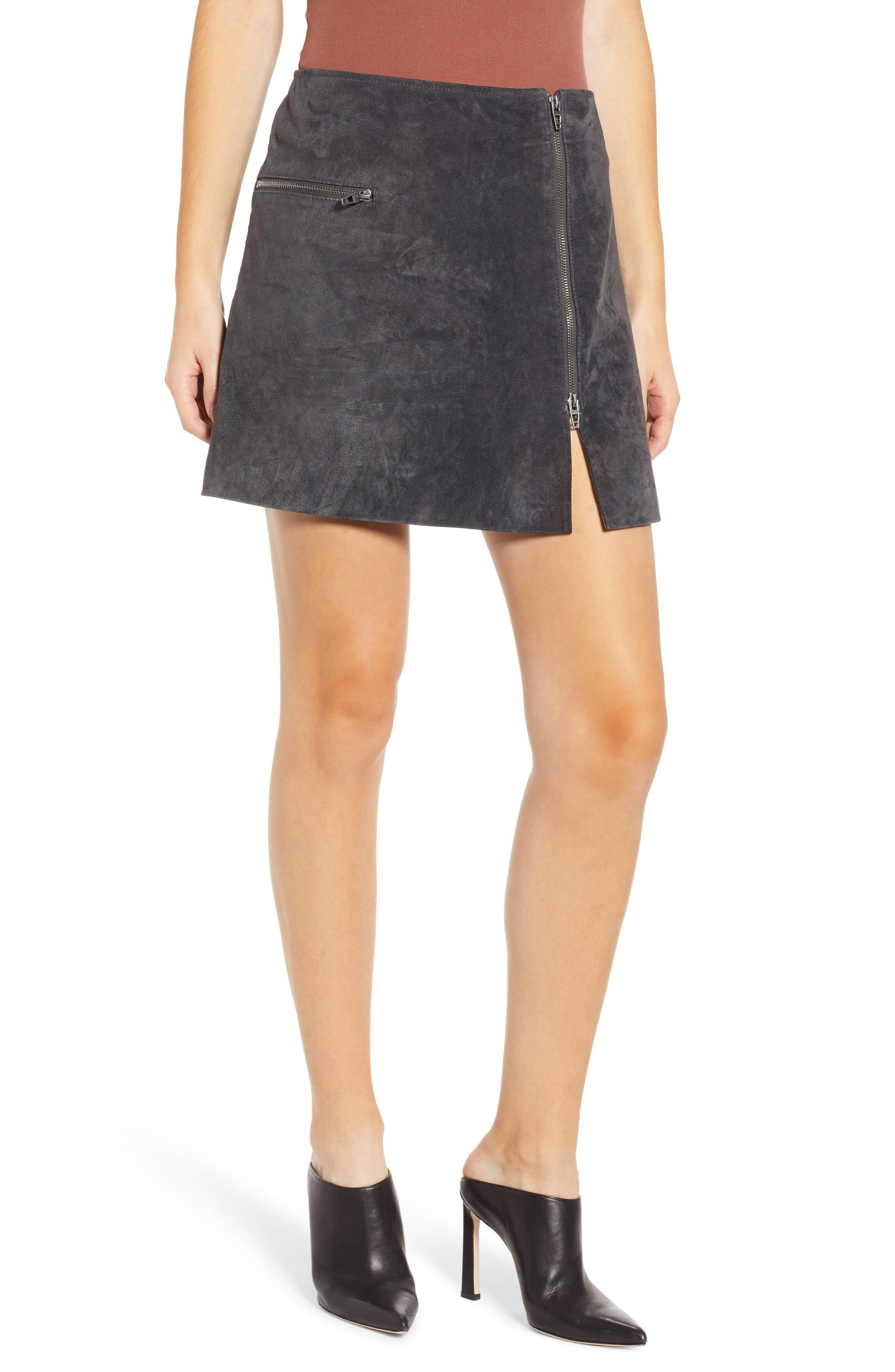 f670d08478 Lyst - Blank NYC A-line Suede Miniskirt - Save 41%