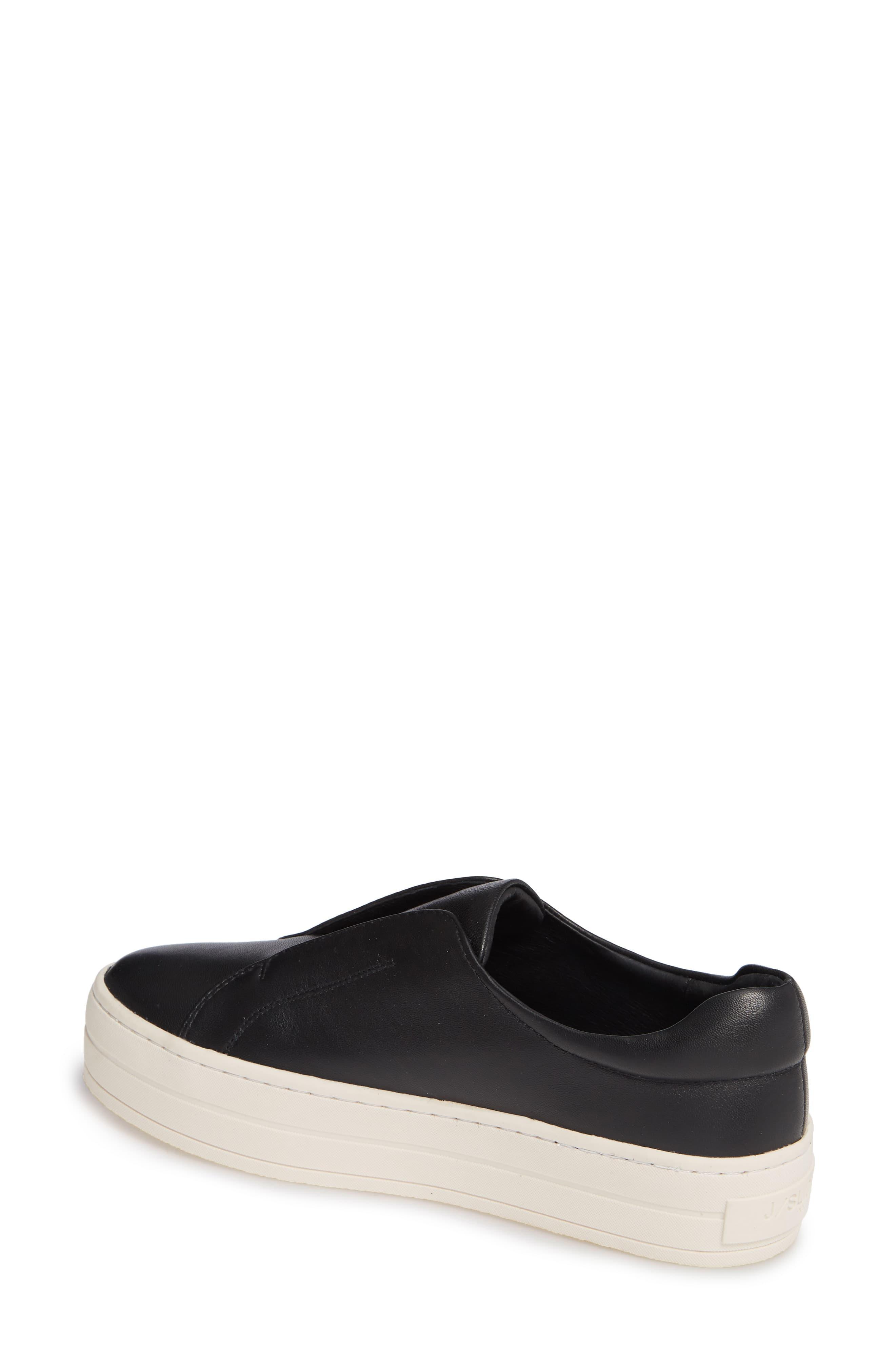 b75b852a4d3a0 J/Slides Heidi Platform Slip-on Sneaker in Black - Save 2% - Lyst