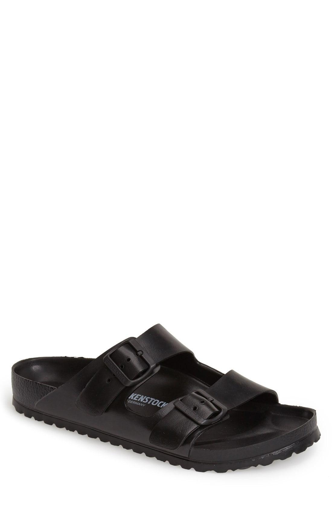 dd9f28de145e Birkenstock - Black Essentials Arizona Eva Waterproof Slide Sandal for Men  - Lyst. View fullscreen