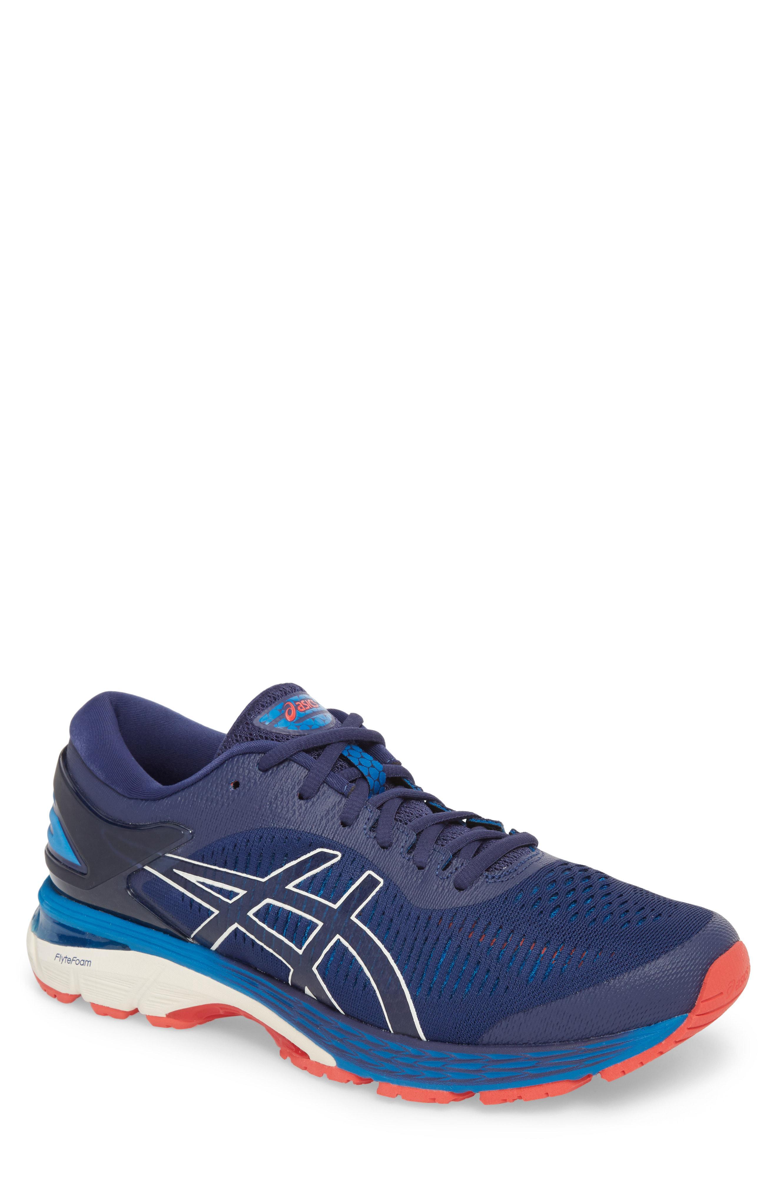 1ae56e5464ea Lyst - Asics Asics Gel-kayano 25 Running Shoe in Blue for Men