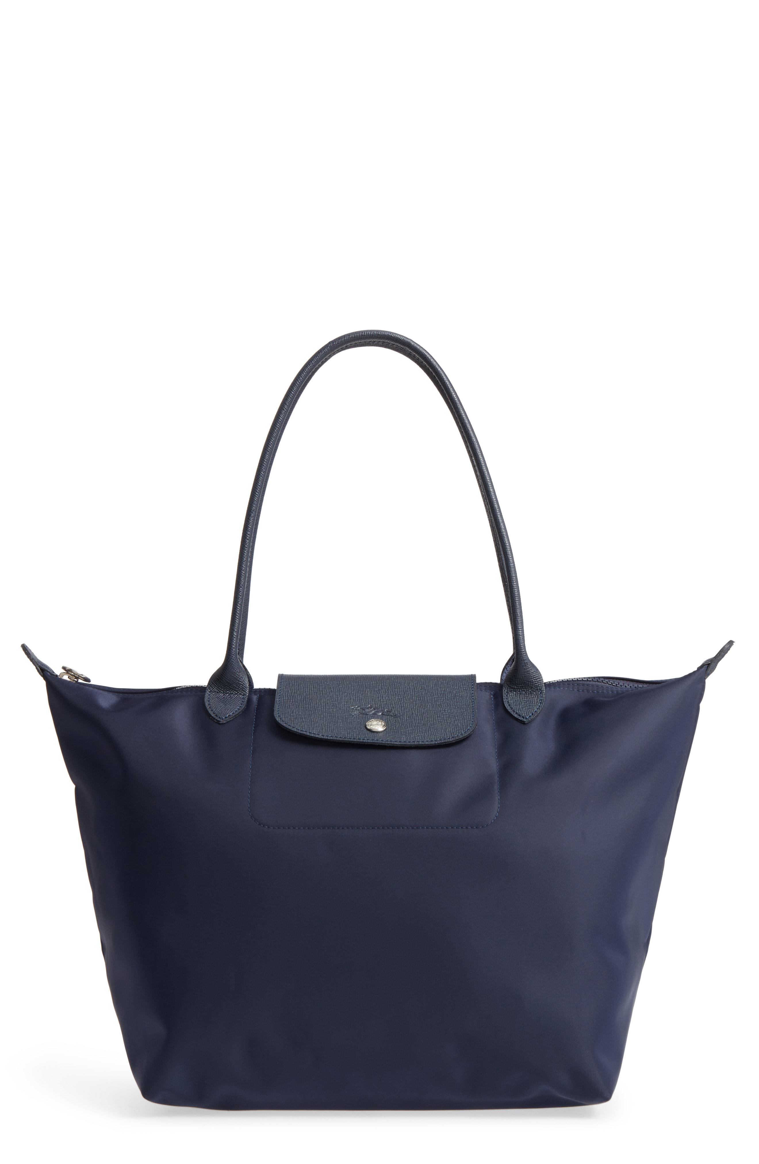 4f9c8a2981 Lyst - Longchamp 'large Le Pliage Neo' Nylon Tote in Blue
