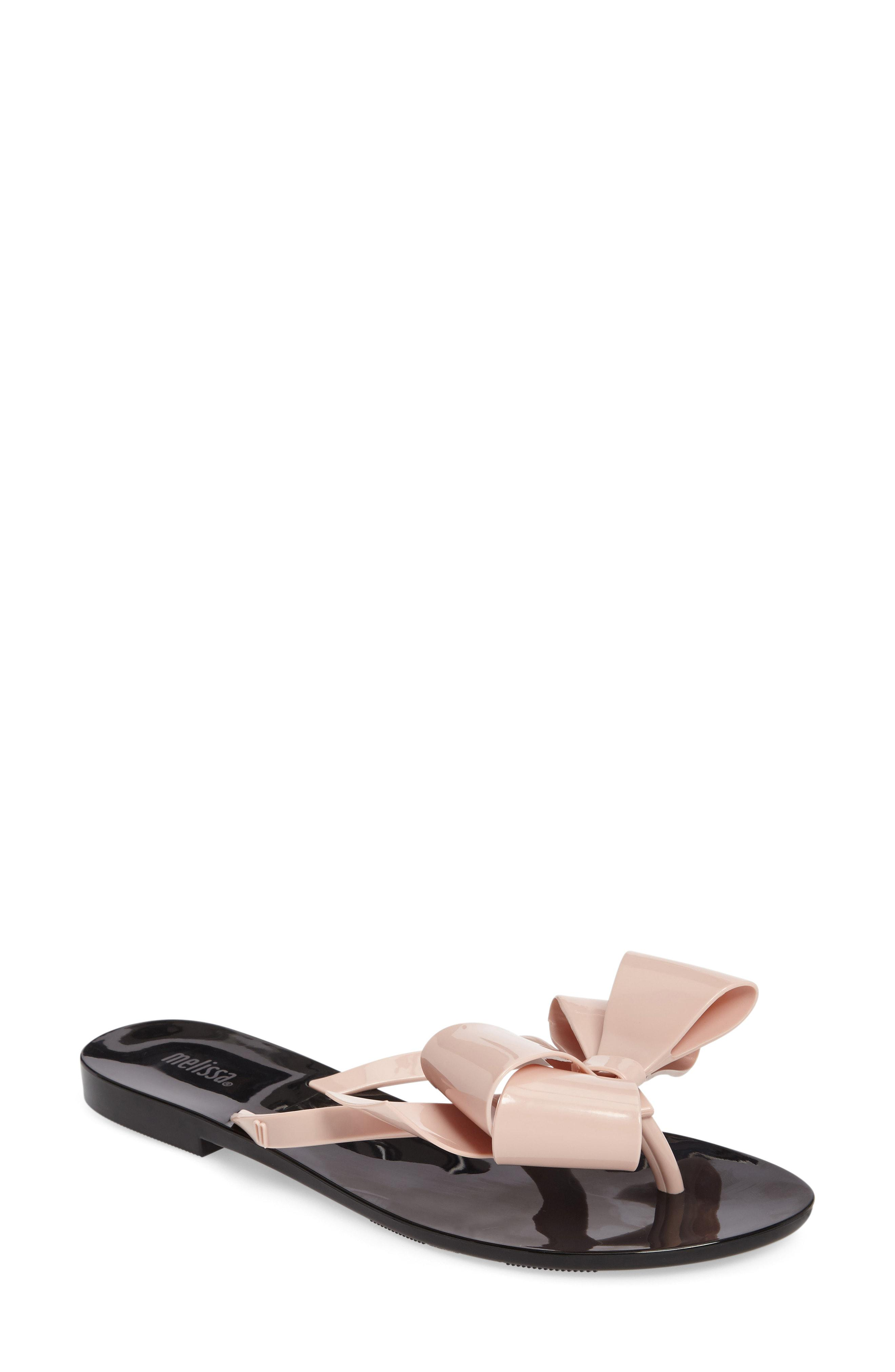 5f8bea1c6 Lyst - Melissa Harmonic Bow Iii Flip-flops in Pink - Save ...