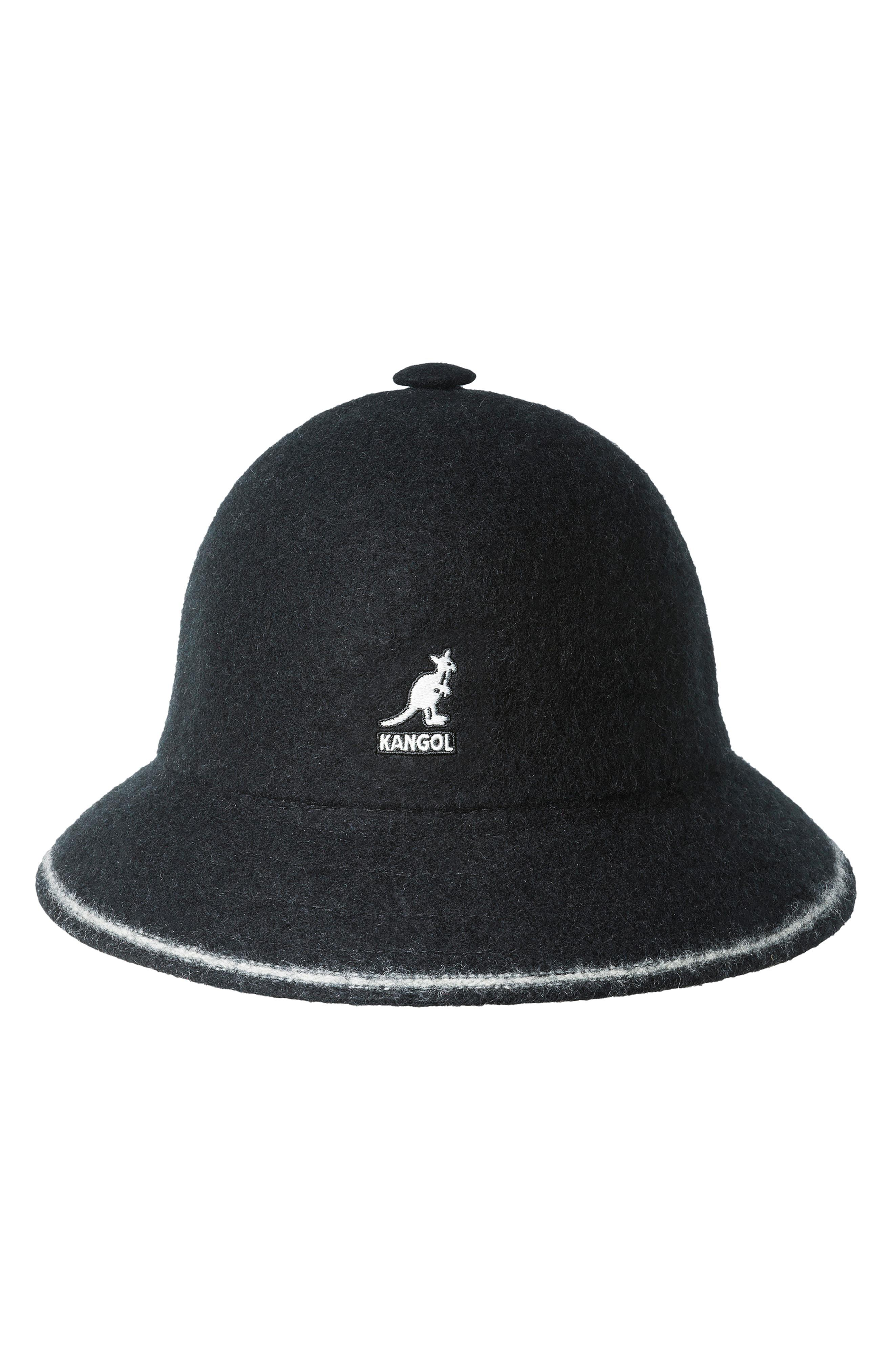 85e5d42555f0 Lyst - Kangol Cloche Hat in Black