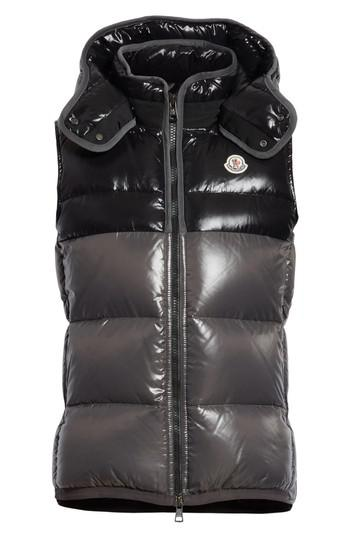 86158f0fb Lyst - Moncler Balmat Quilted Down Vest With Detachable Hood in ...