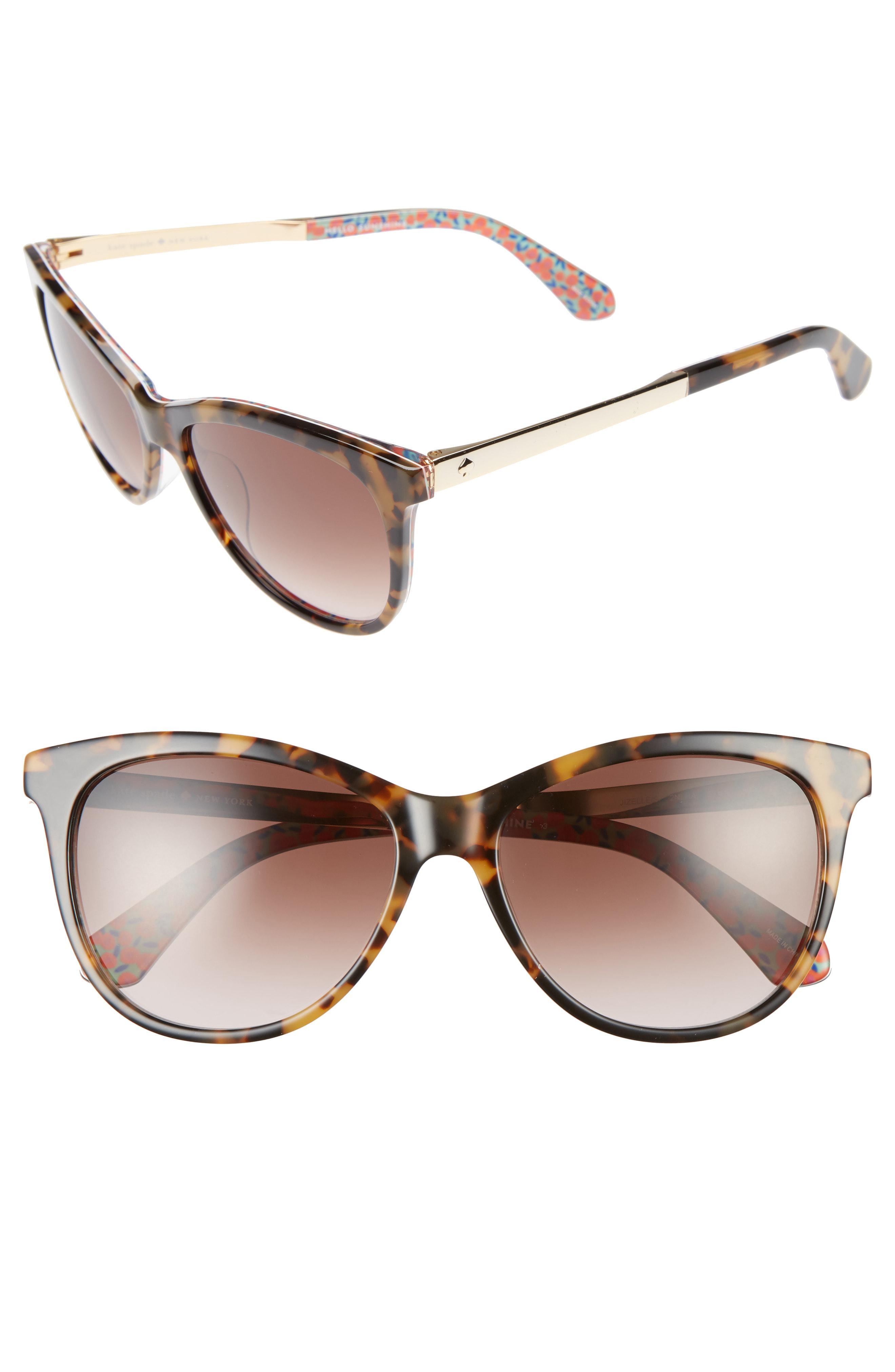 12b83b6694 Kate Spade. Women s Gray Jizelle 55mm Gradient Lenses Cat Eye Sunglasses -