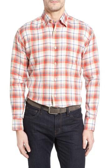 Lyst robert talbott anderson classic fit sport shirt in for Robert talbott shirts sale