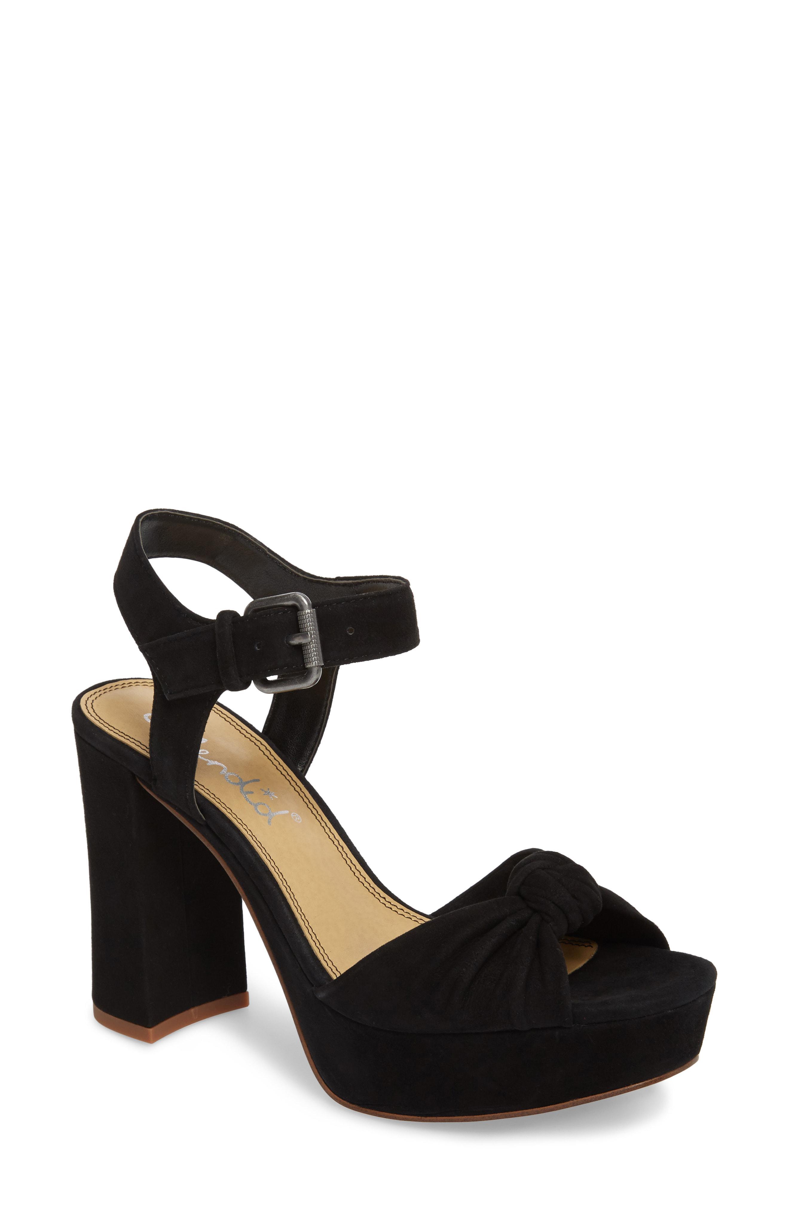 7721c7c13988 Lyst - Splendid Bates Platform Sandal in Black