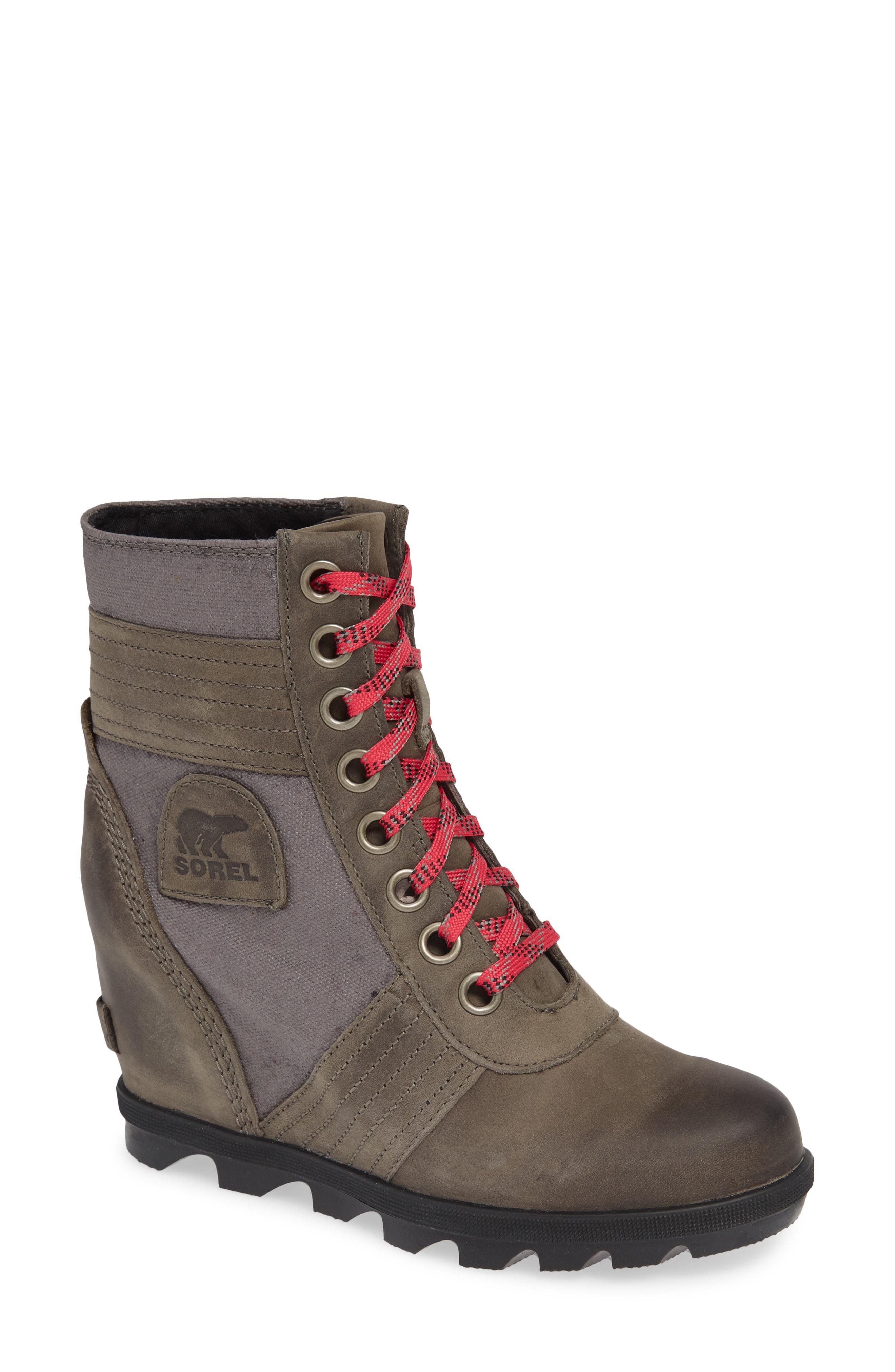 ecad67ff6259 Lyst - Sorel Lexie Wedge Waterproof Boot - Save 25%