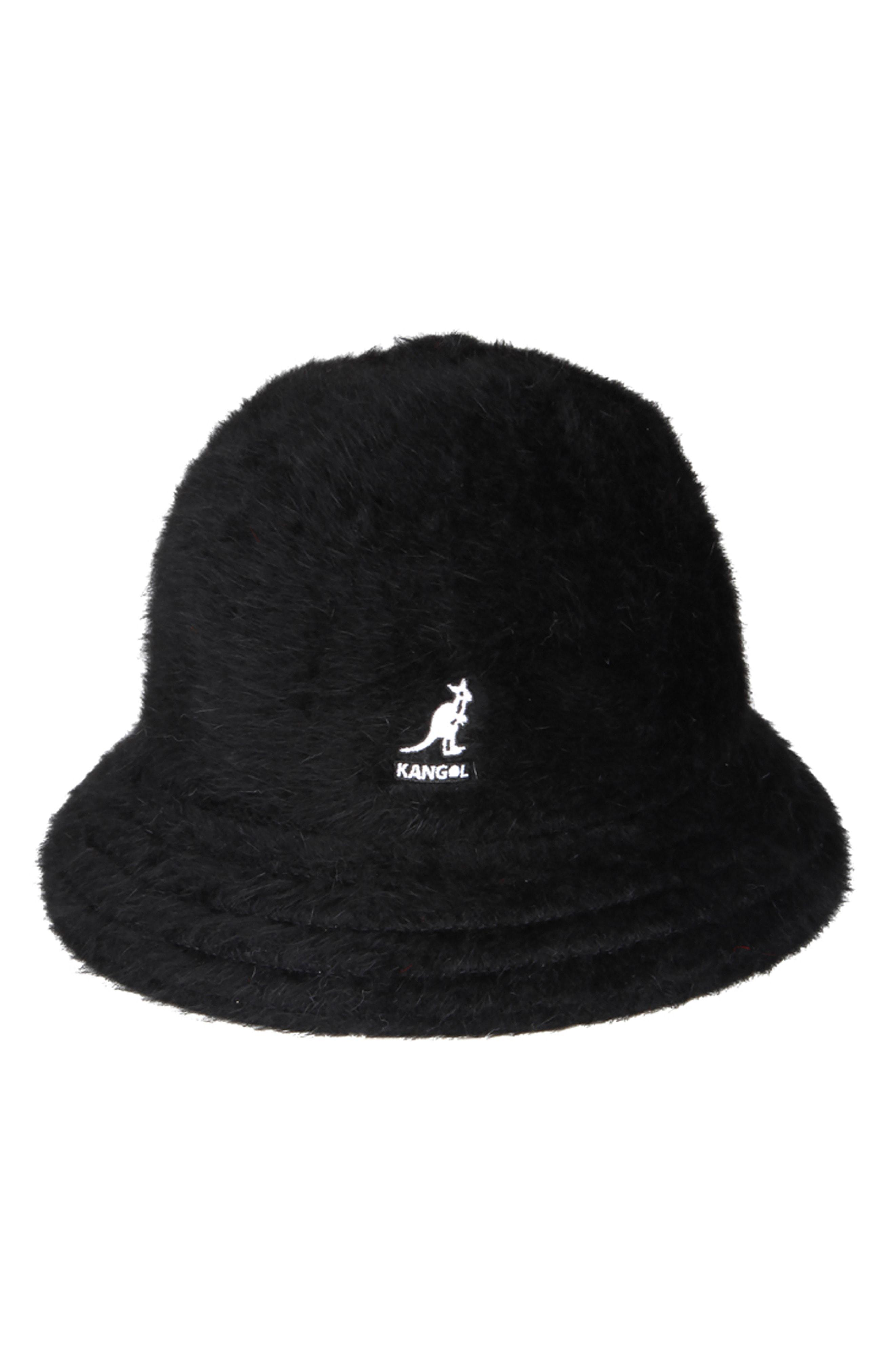 Lyst - Kangol Furgora Casual Bucket Hat in Black c4ff477d3c51