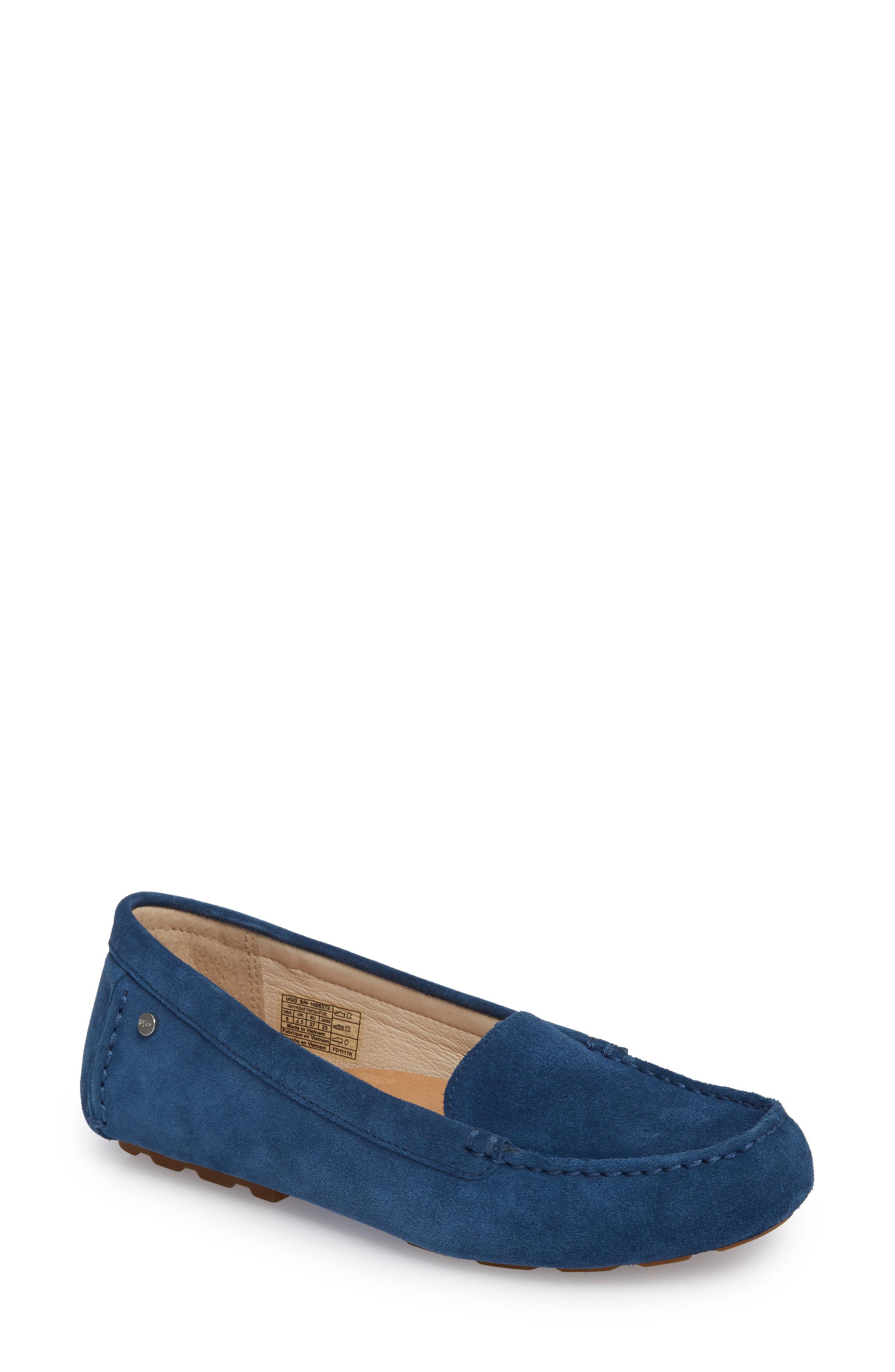fa31697305b Lyst - UGG Ugg Milana Loafer in Blue