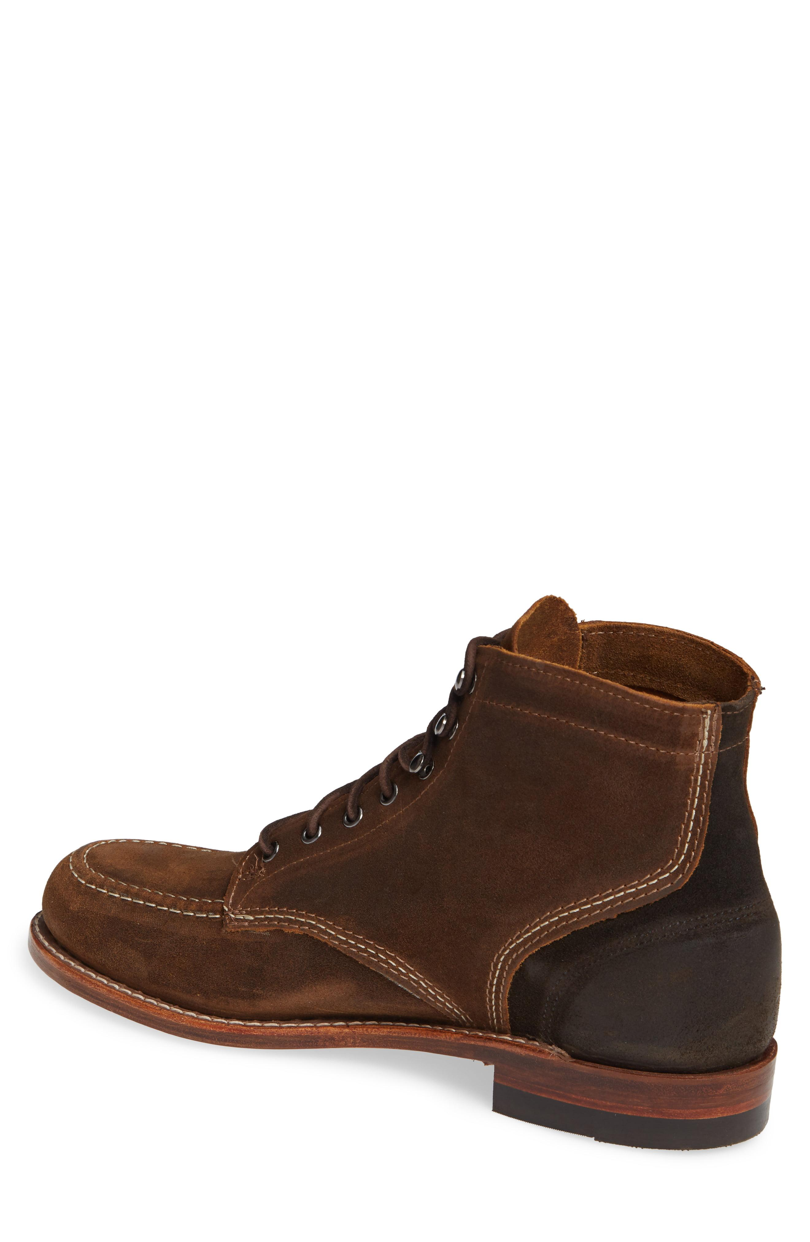 053347e7f3a Lyst - Wolverine 1000 Mile 1940 Apron Toe Boot in Brown for Men