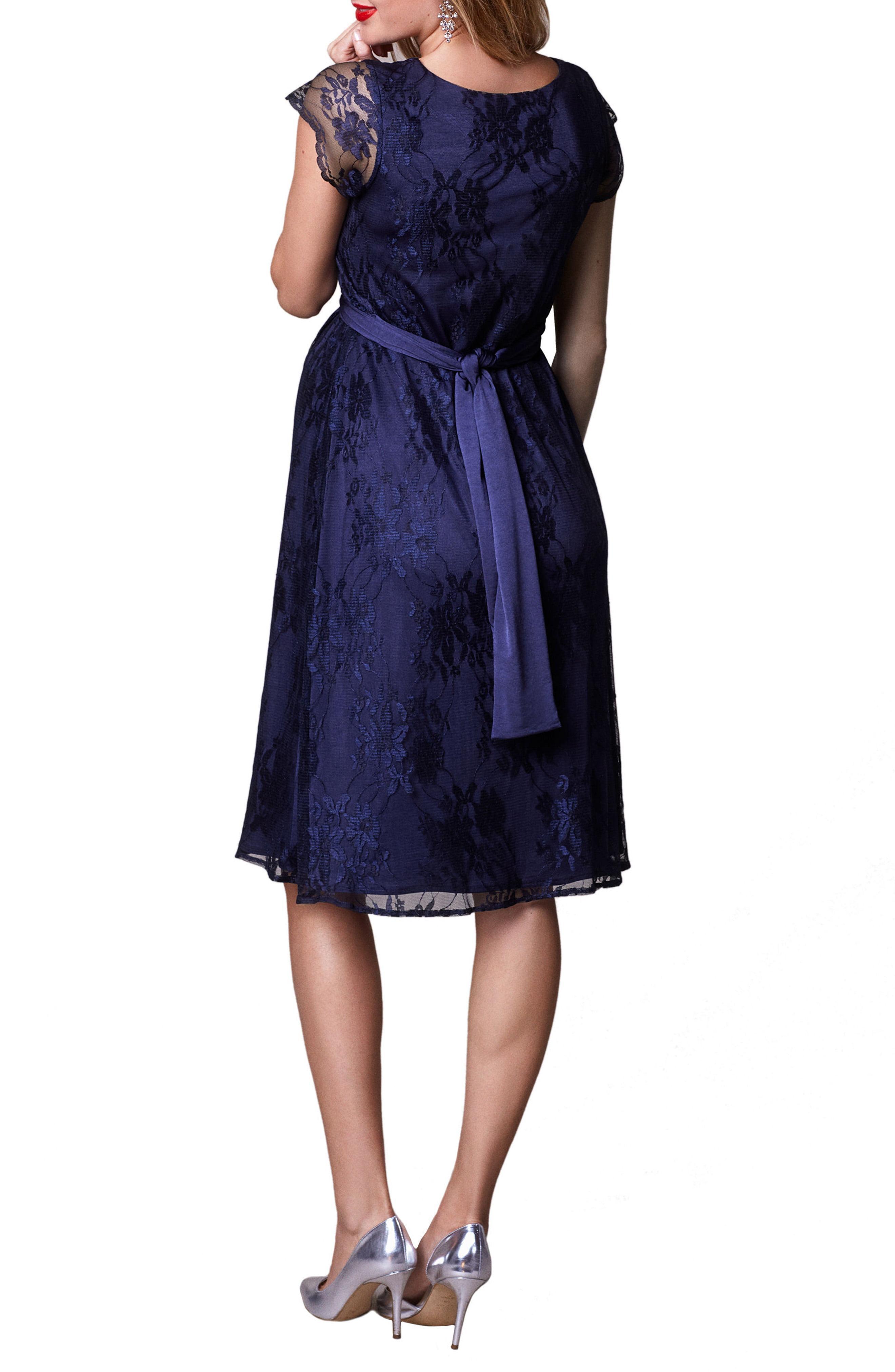 d3eb87de11 Lyst - TIFFANY ROSE April Maternity nursing Dress in Blue