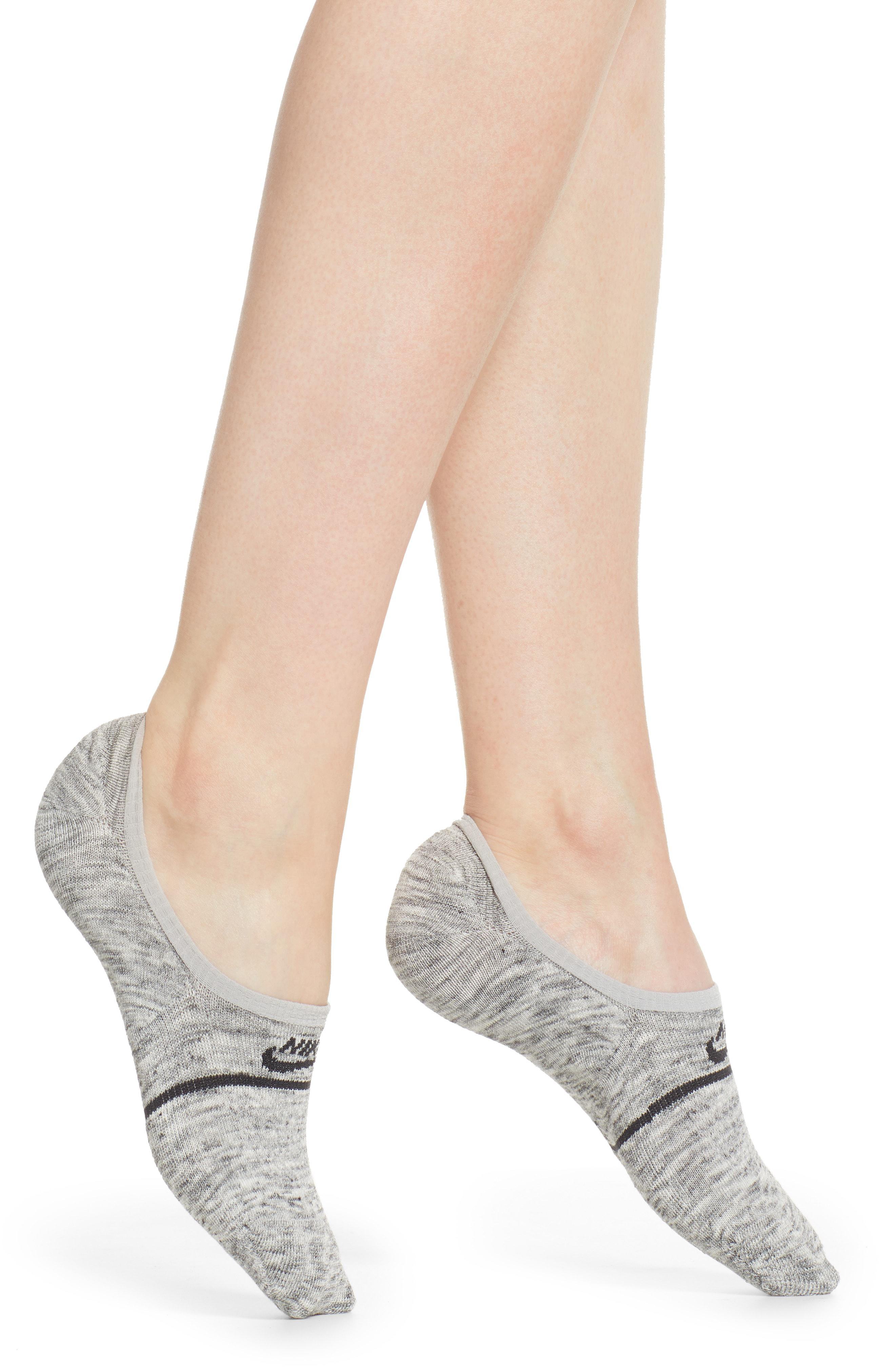 c62b2fe96 Nike 2-pack Snkr Sox Essential No Show Socks, Grey in Gray - Lyst