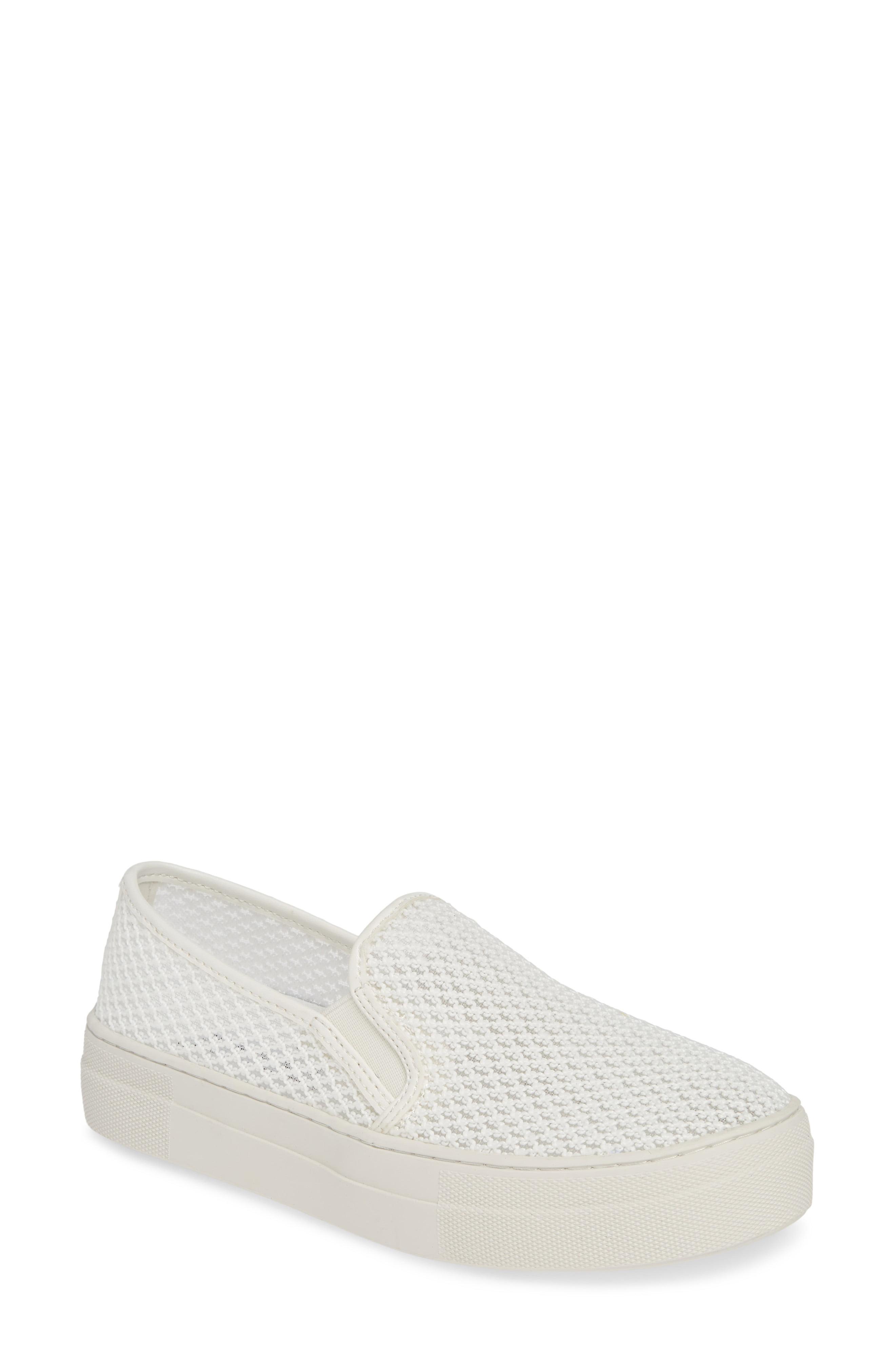39a15158918 Lyst - Steve Madden Gills-m Mesh Slip-on Sneaker in White