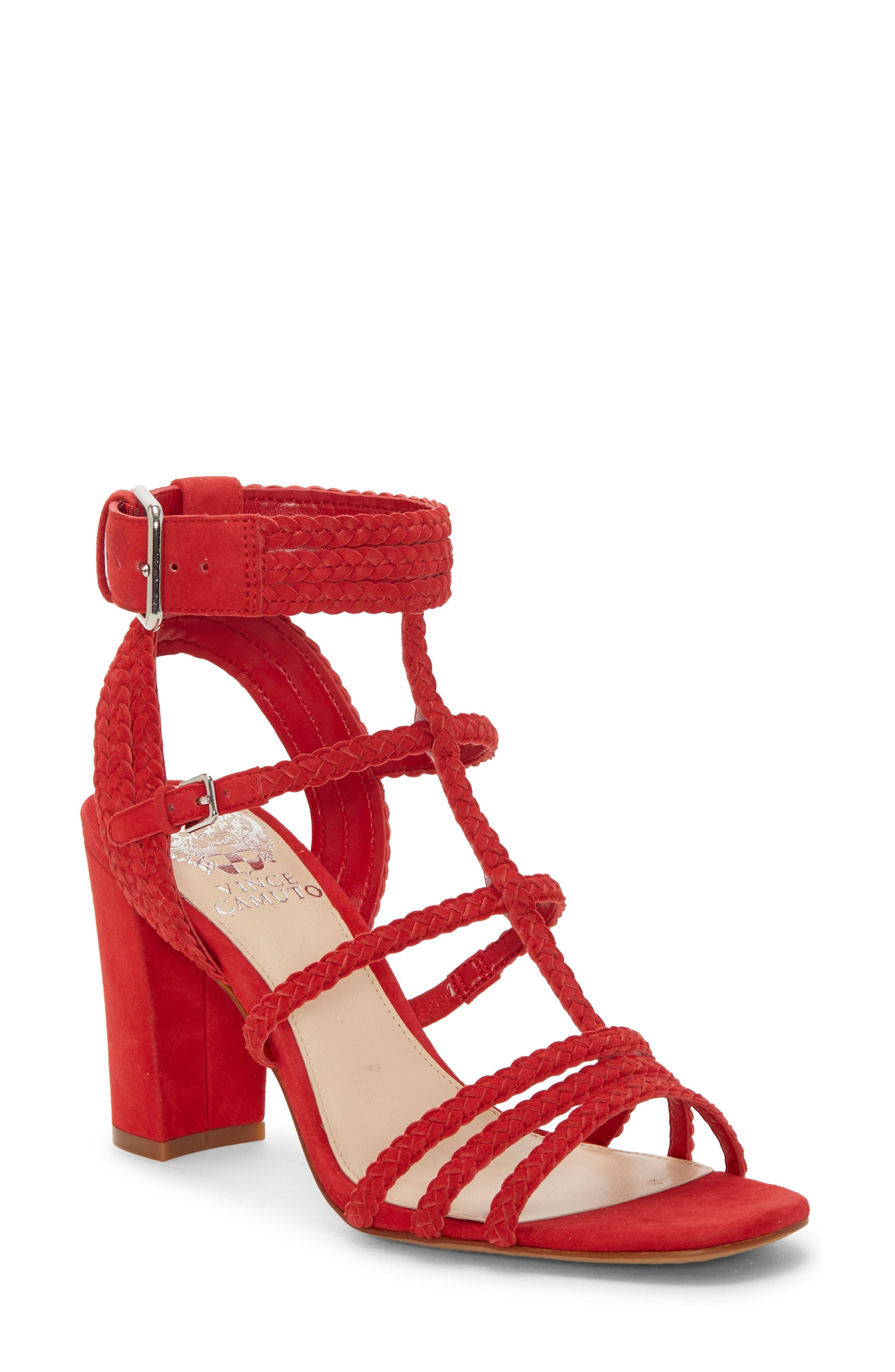 1bbb254a170f Lyst - Vince Camuto Wechilla Sandal in Red