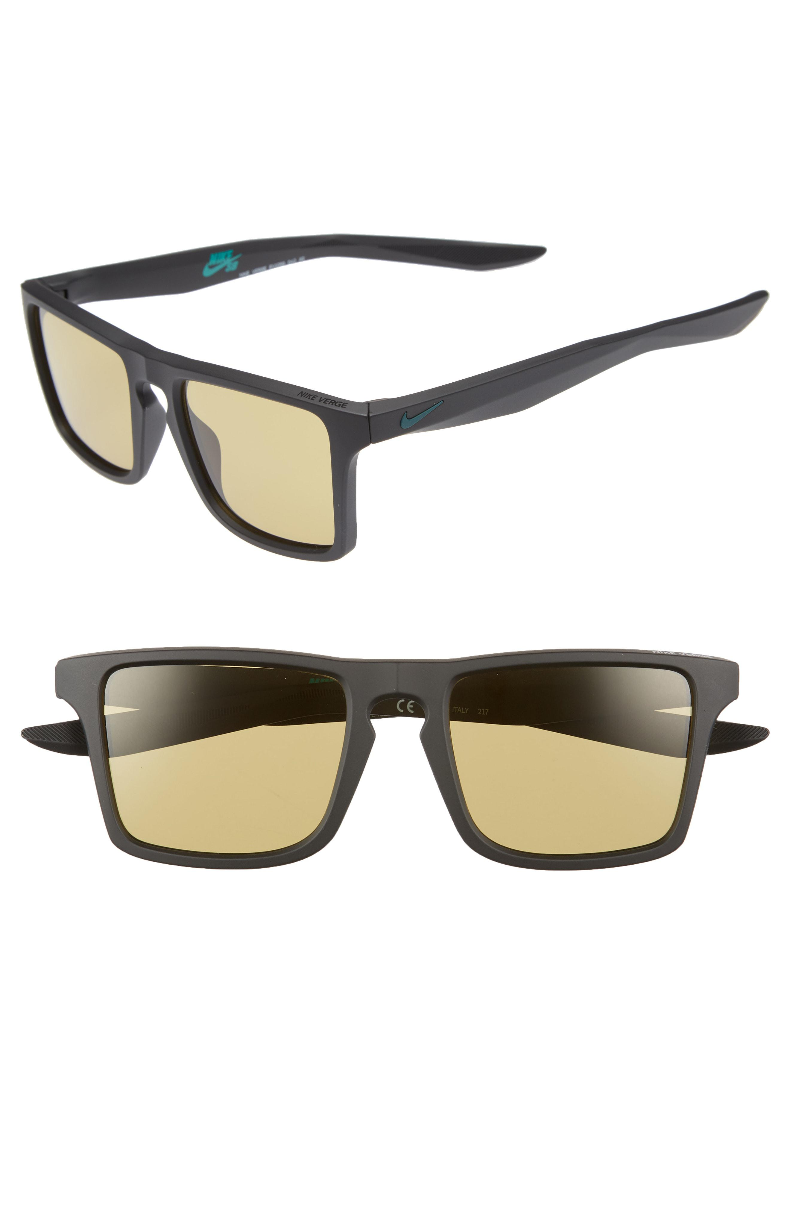 58261a3b31 Lyst - Nike Verge 52mm Sunglasses in Black for Men