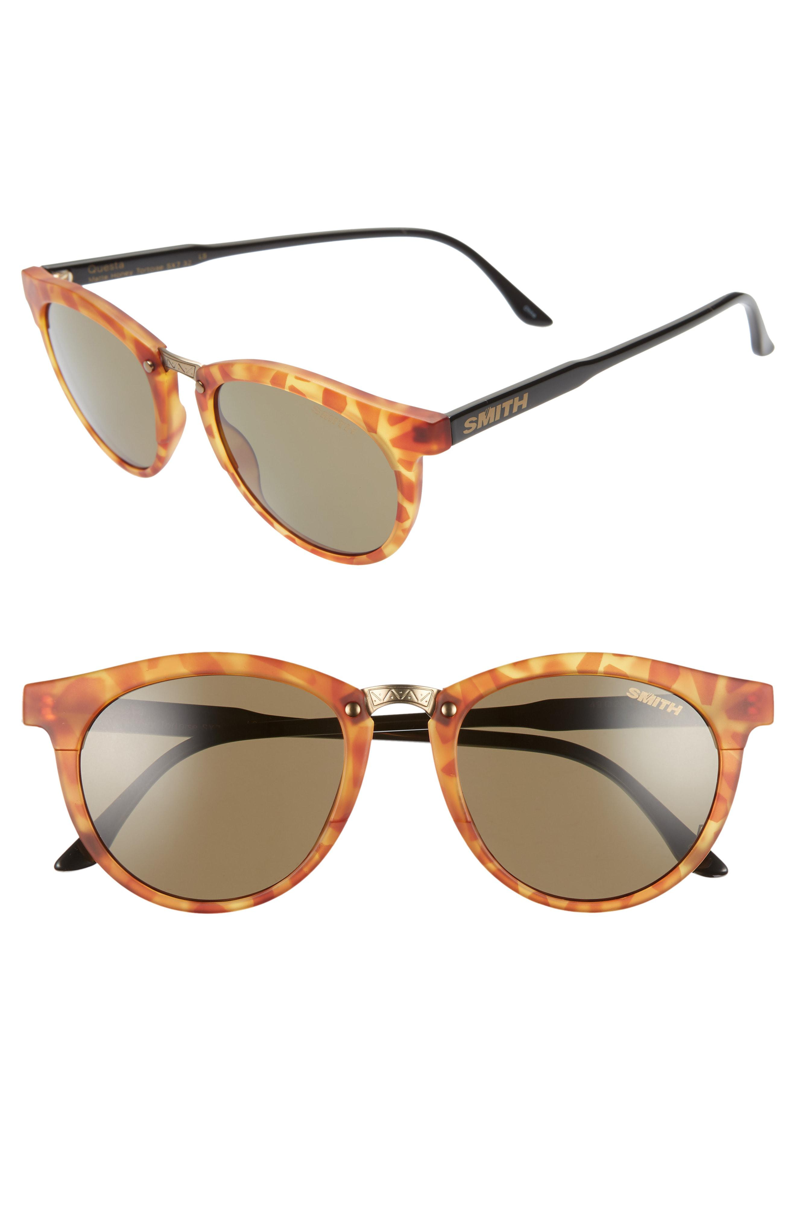 a4e197ce8ec3a Lyst - Smith Questa 49mm Chromapop Polarized Sunglasses - in Brown