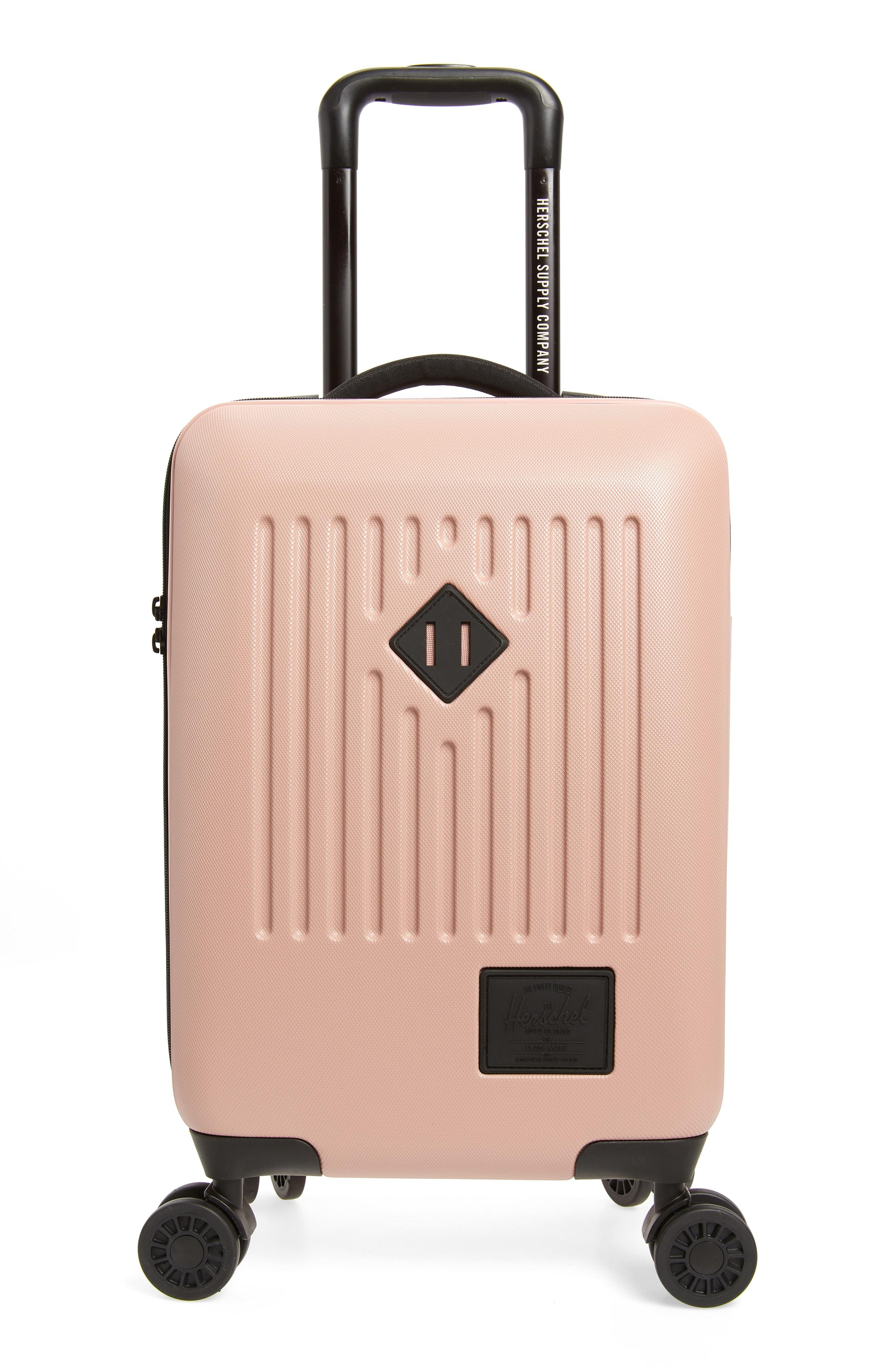 f5db6c157d Lyst - Herschel Supply Co. Trade Small (white) Luggage in Pink ...