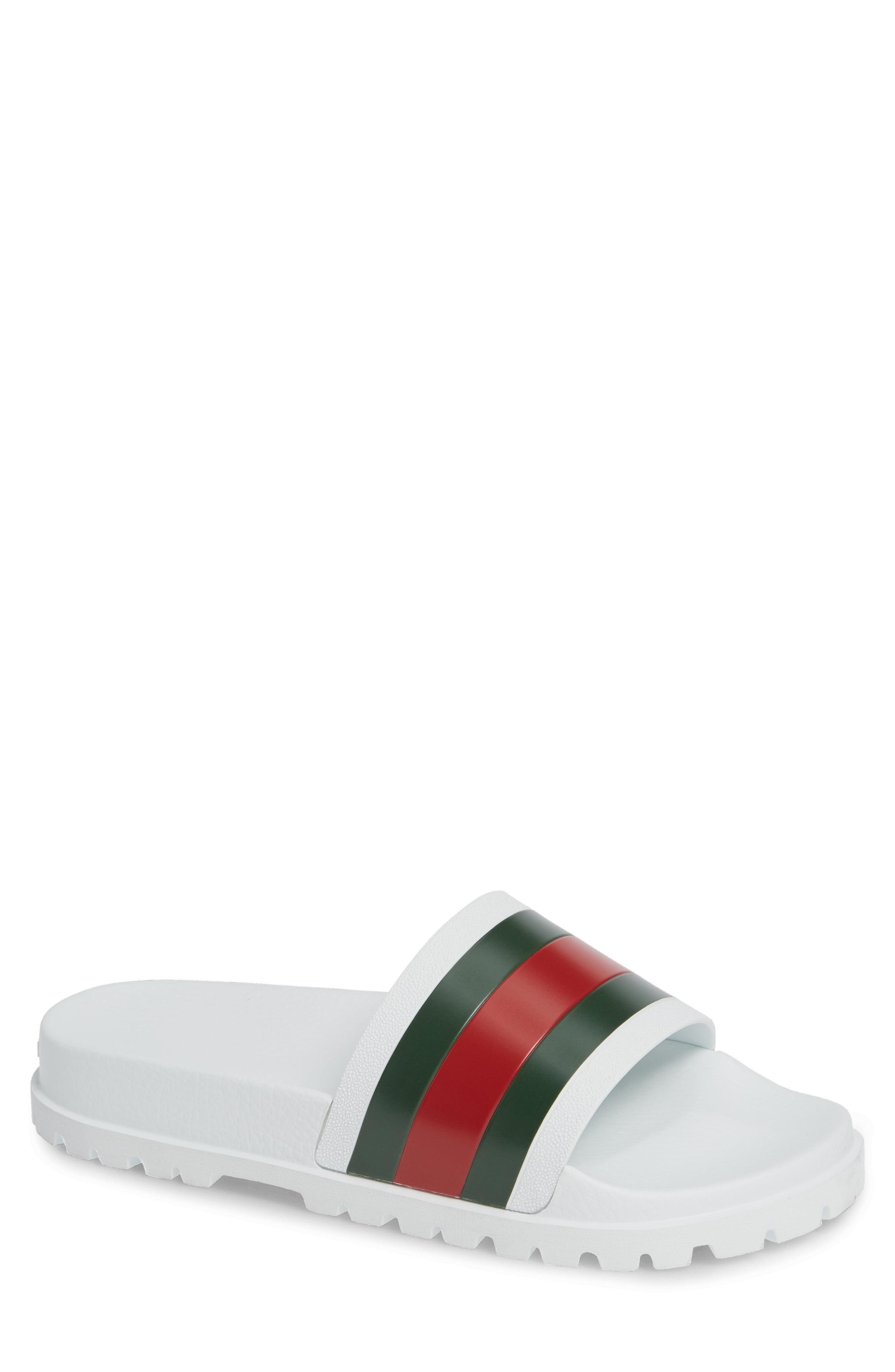 565a8edc1da Lyst - Gucci  pursuit Treck  Slide Sandal in White for Men