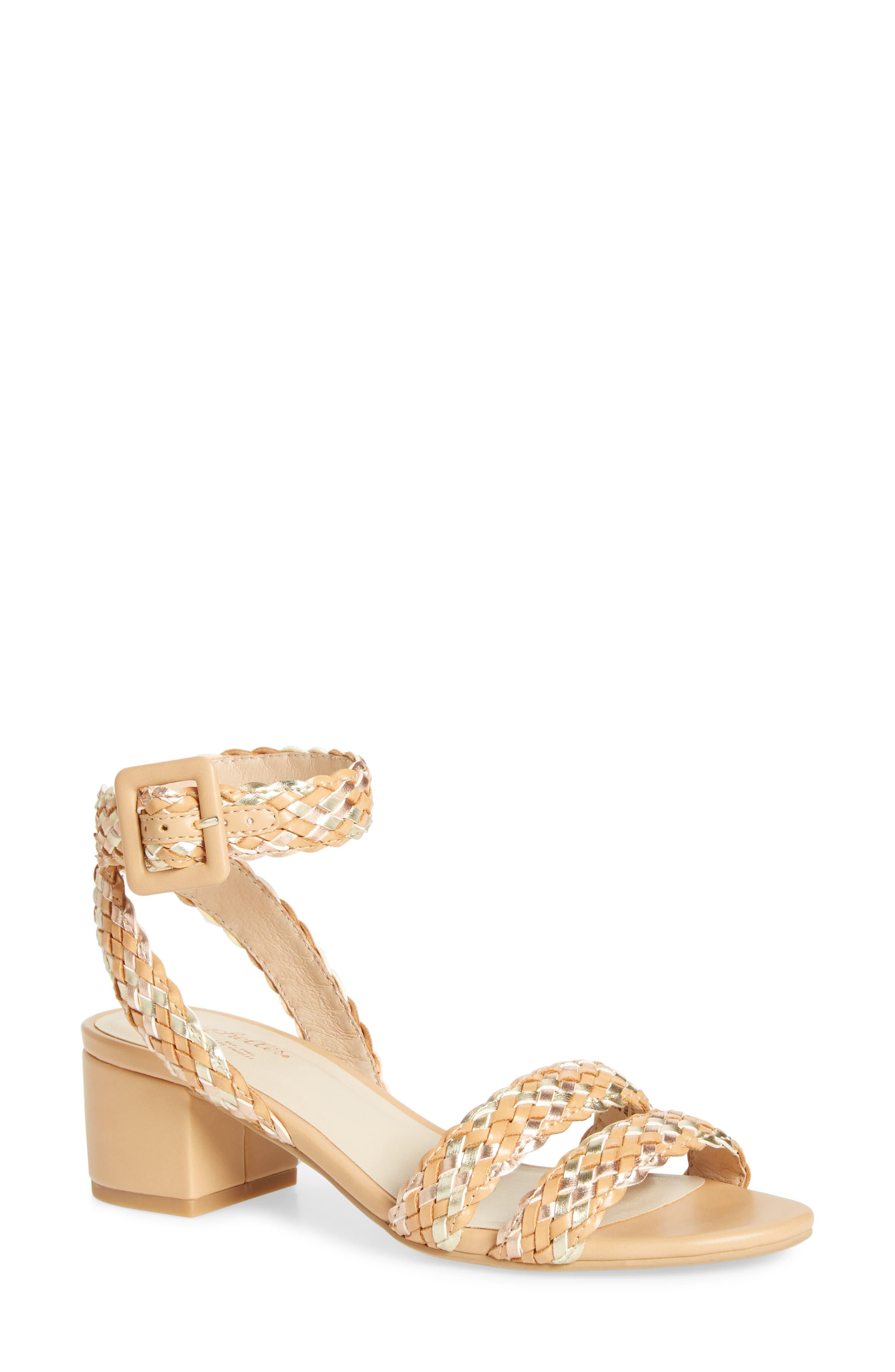 d4289907f Seychelles Braided Ankle Strap Sandal in Natural - Lyst