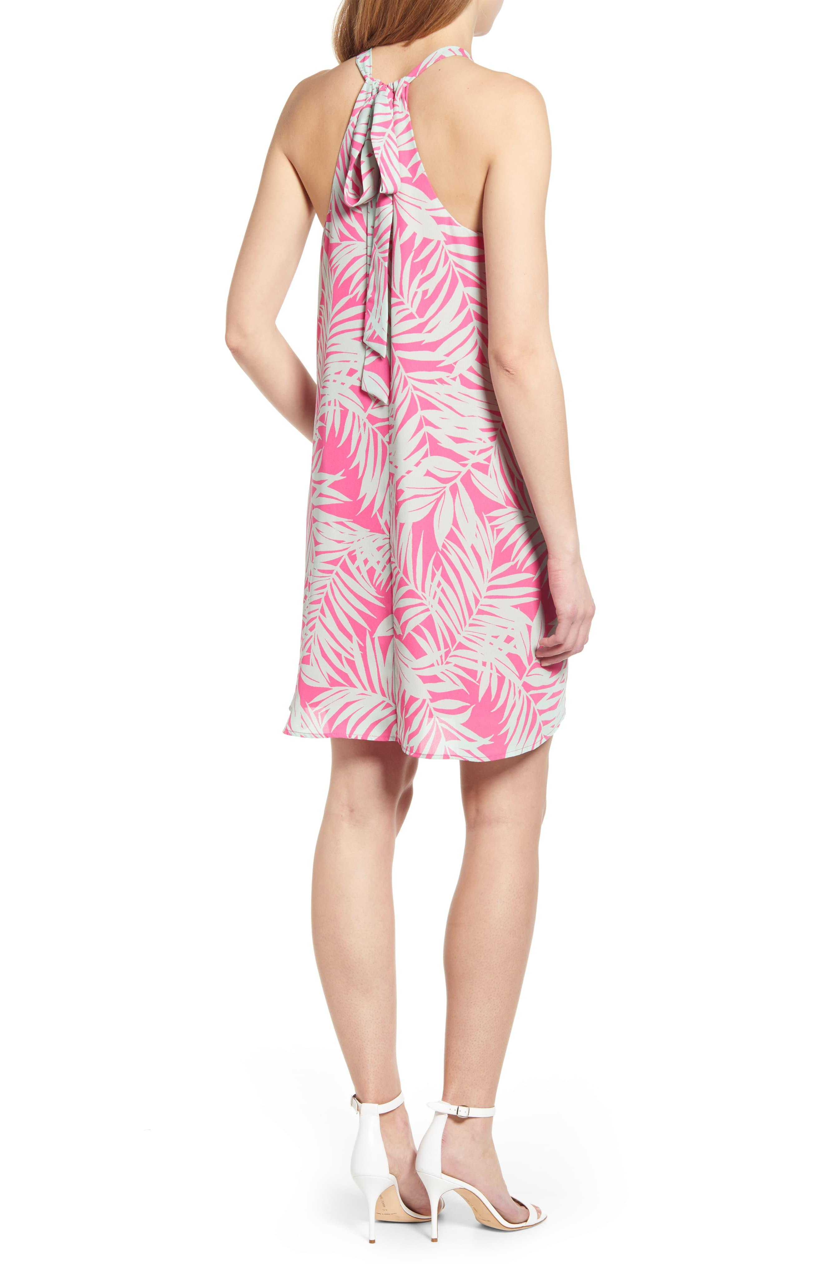 7440b0a24063 Gibson X Hi Sugarplum! Naples Swing Halter Dress in Pink - Lyst