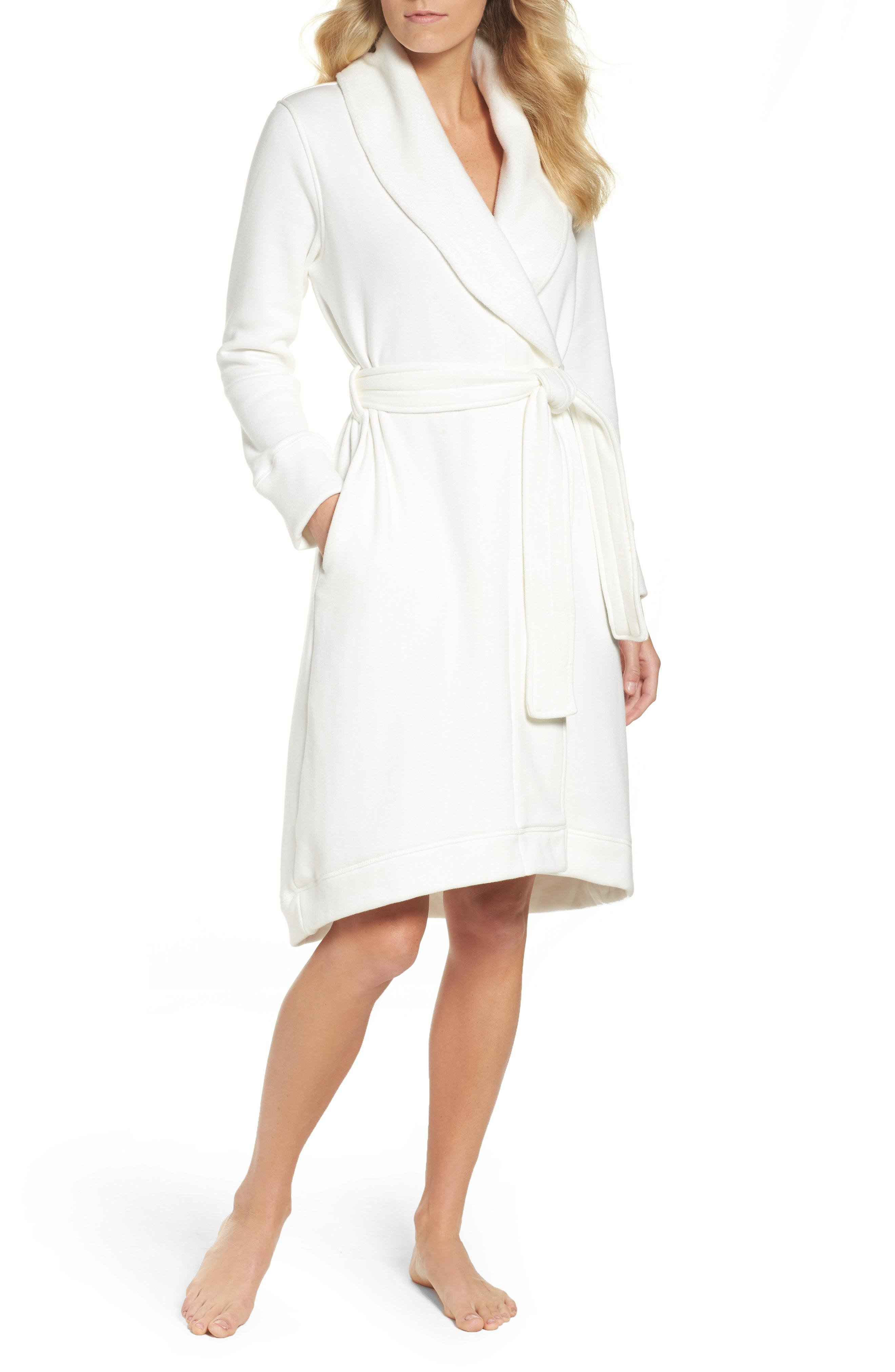 cb4dfc2e7f Lyst - Ugg Ugg Duffield Double Knit Robe in Natural