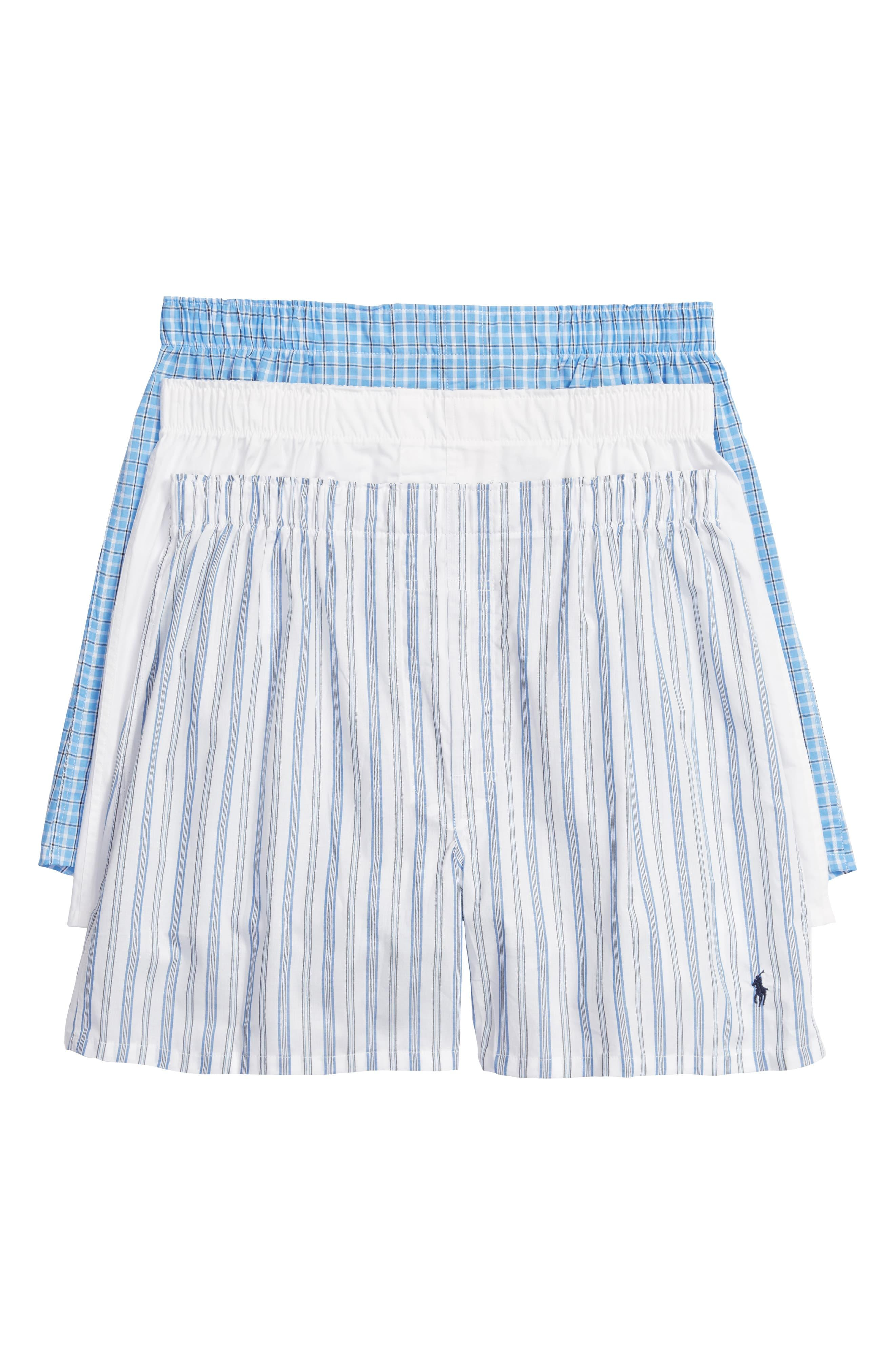 BoxersNone Lauren Cotton By Pack Ralph Polo 3 vNnm08wO