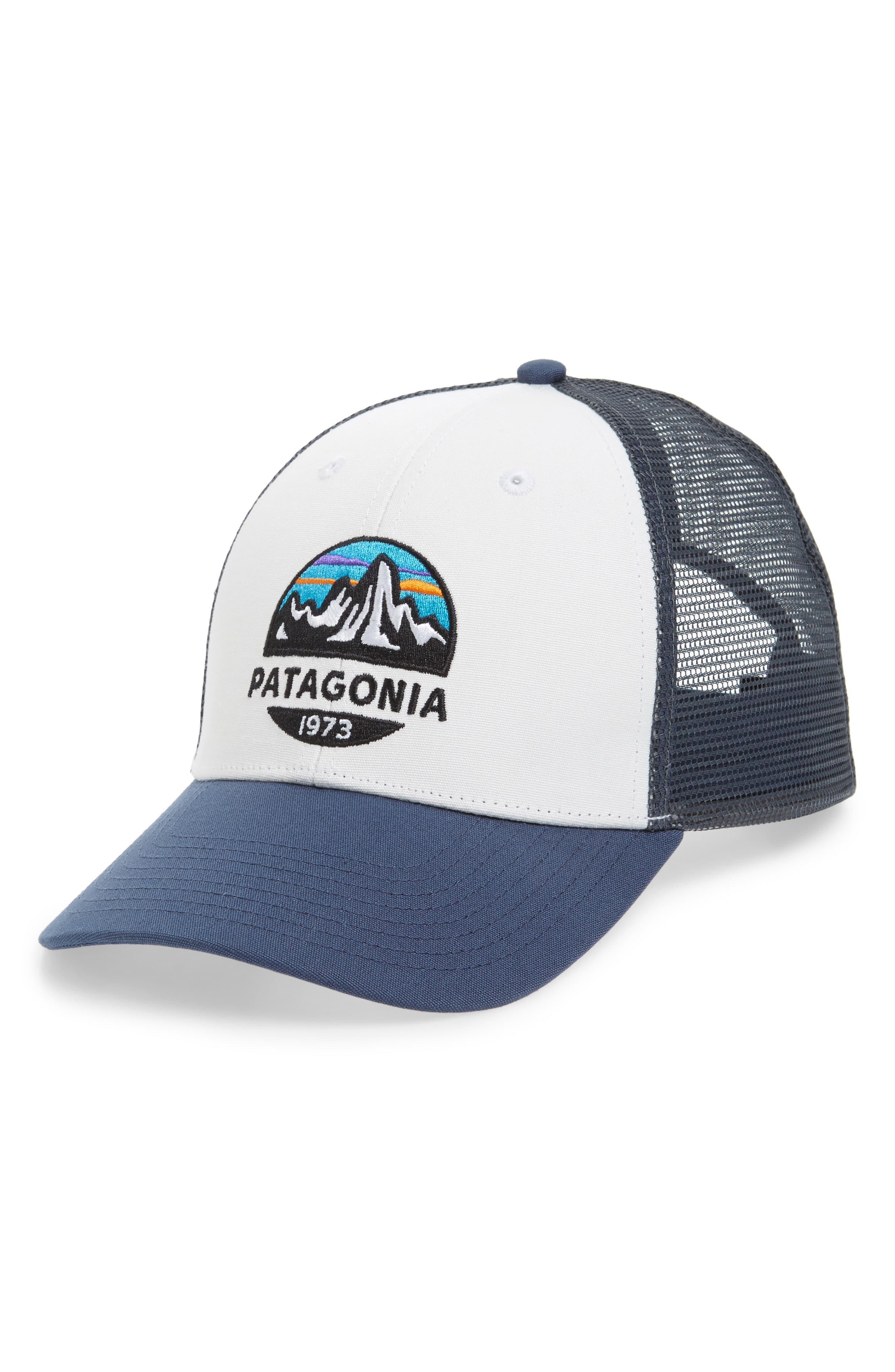 fdc15f6debaaf Lyst - Patagonia Fitz Roy Scope Lopro Trucker Cap in White for Men