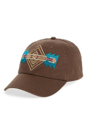 Lyst - Pendleton Embroidered Ball Cap in Brown for Men c670a7f454c