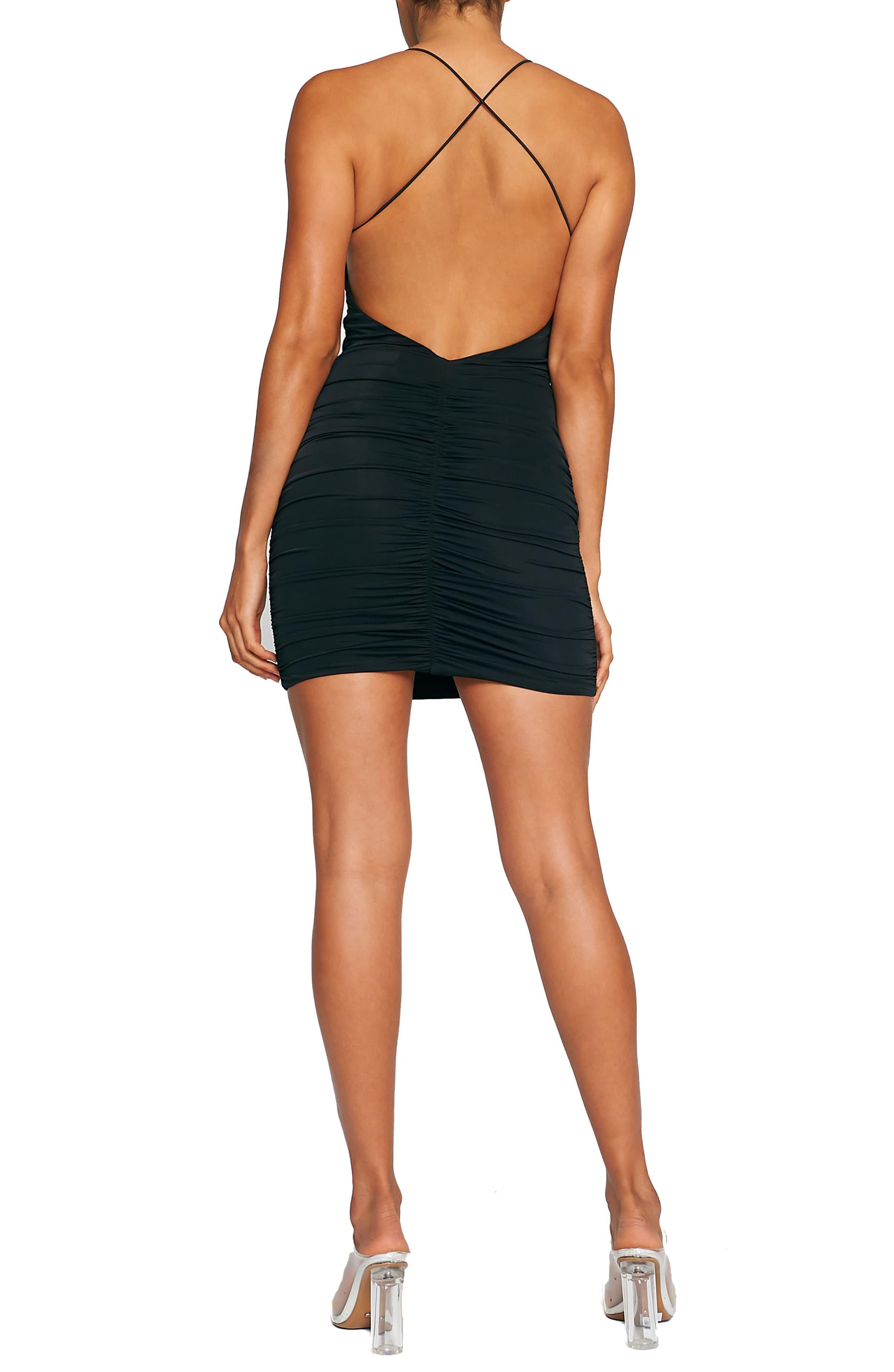 Tiger Mist Reese Body Con Dress In Black Lyst