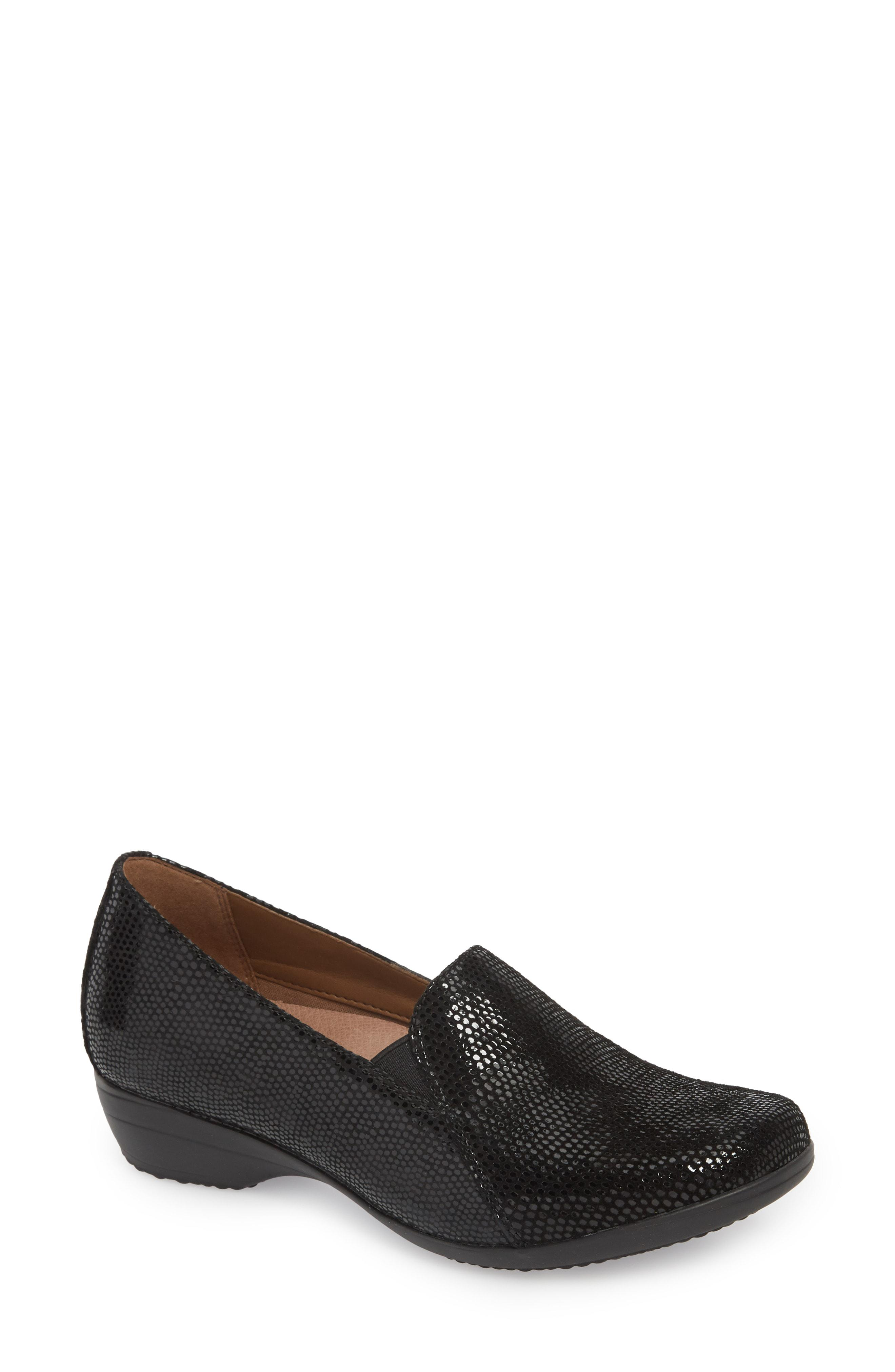fe6dc643295 Lyst - Dansko Farah Loafer in Black - Save 40%