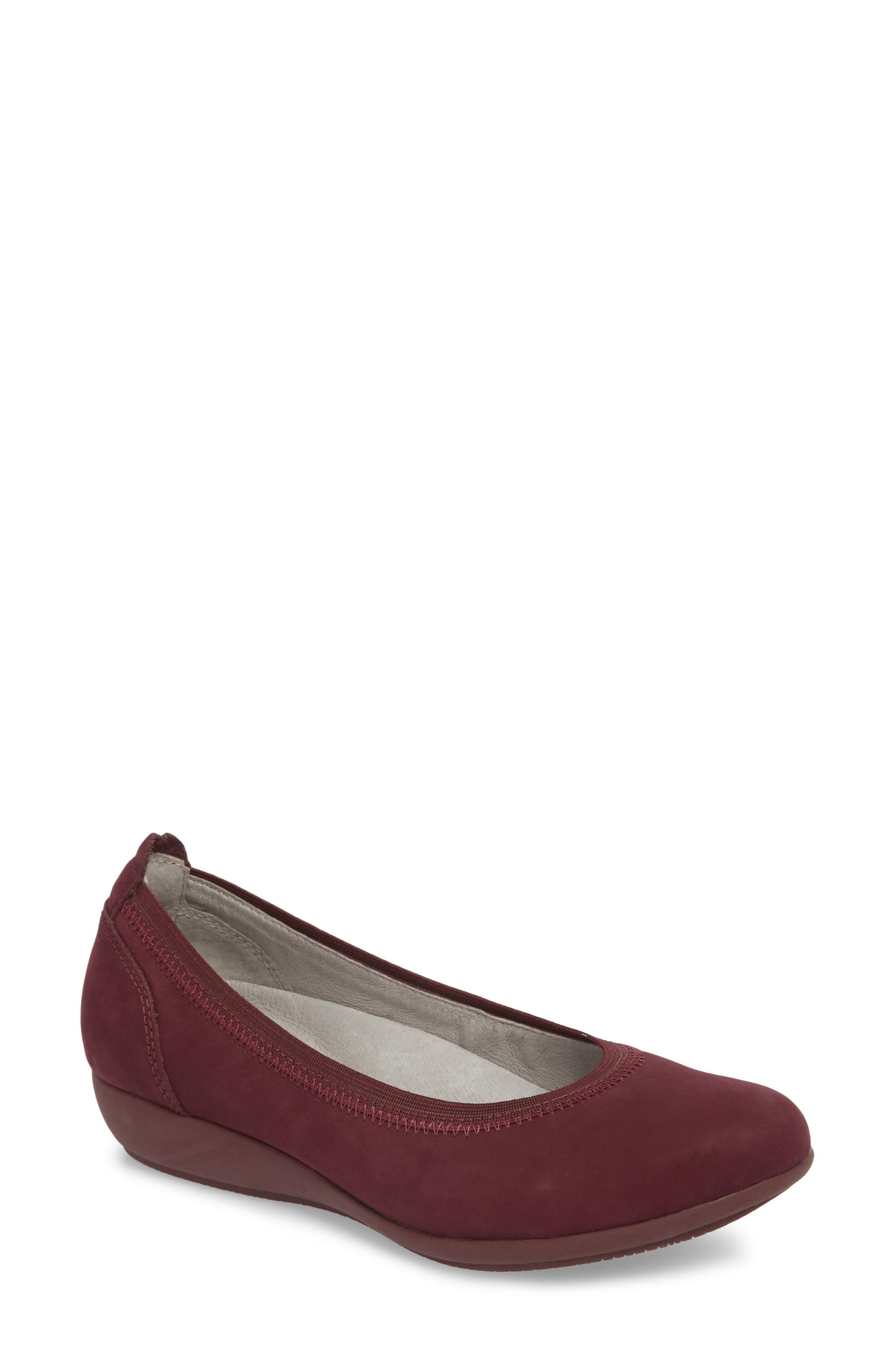 2614e18a1042 Lyst - Dansko Kristen Ballet Flat in Brown